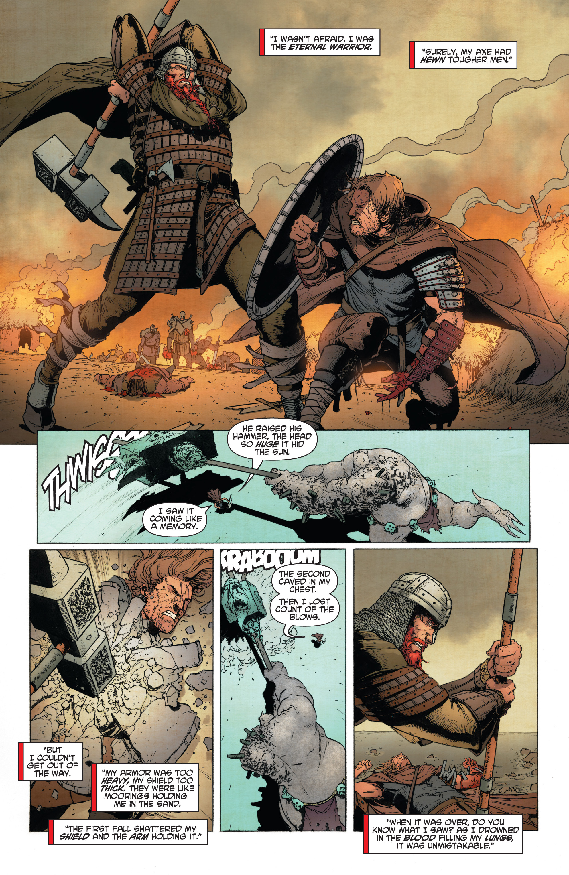 Read online Wrath of the Eternal Warrior comic -  Issue #13 - 16