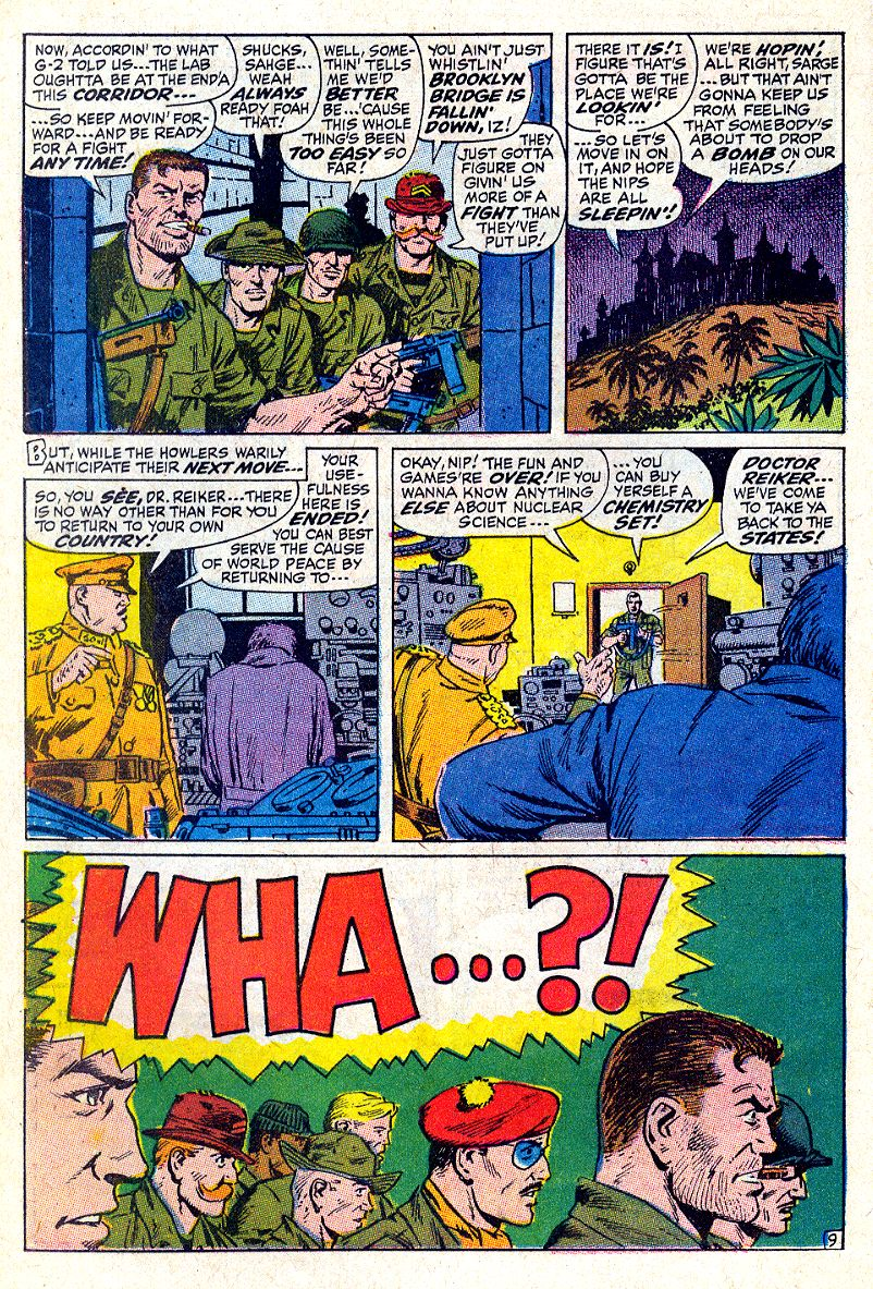 Read online Sgt. Fury comic -  Issue #64 - 14