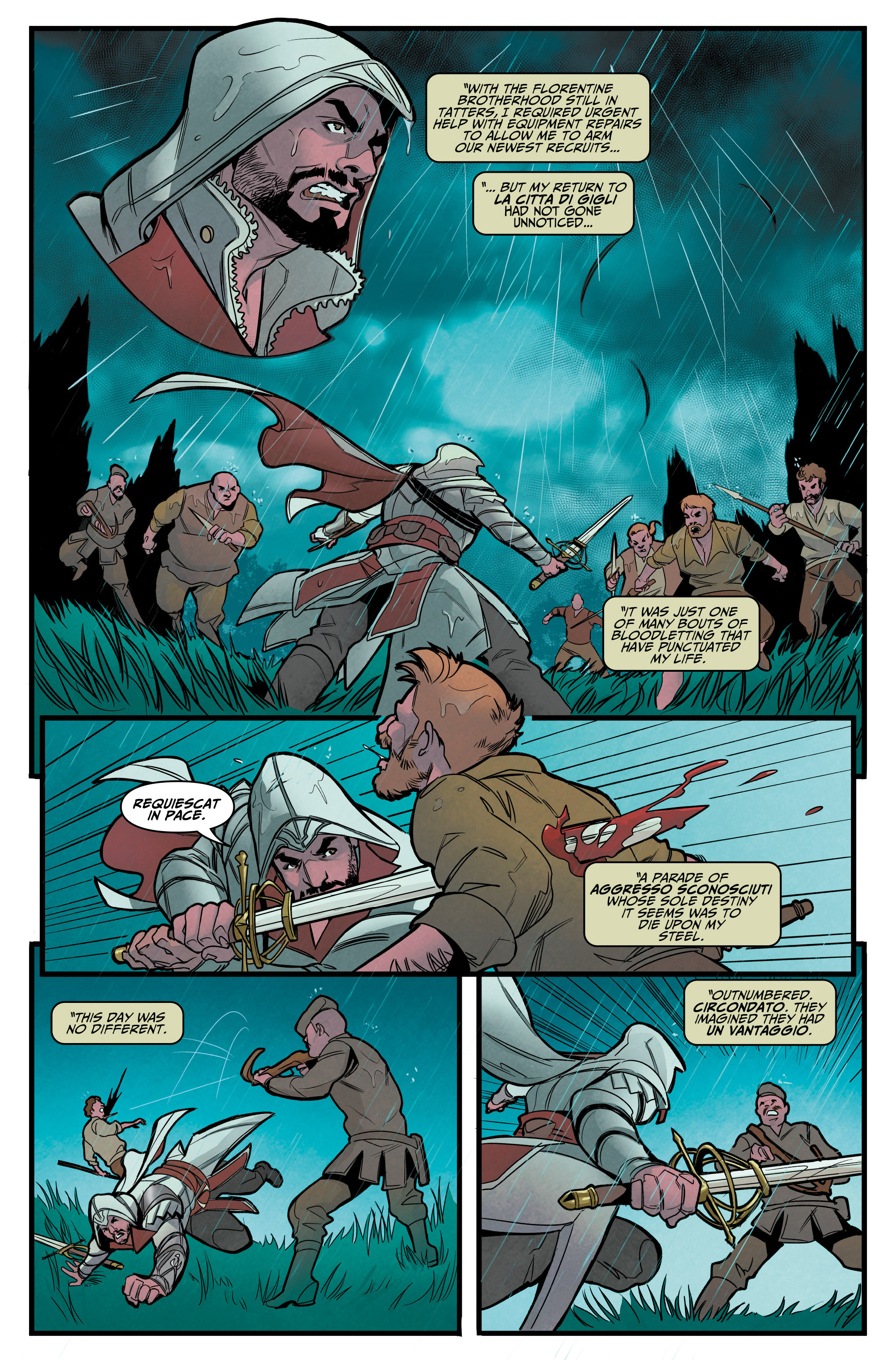 Read online Assassin's Creed: Reflections comic -  Issue #1 - 9