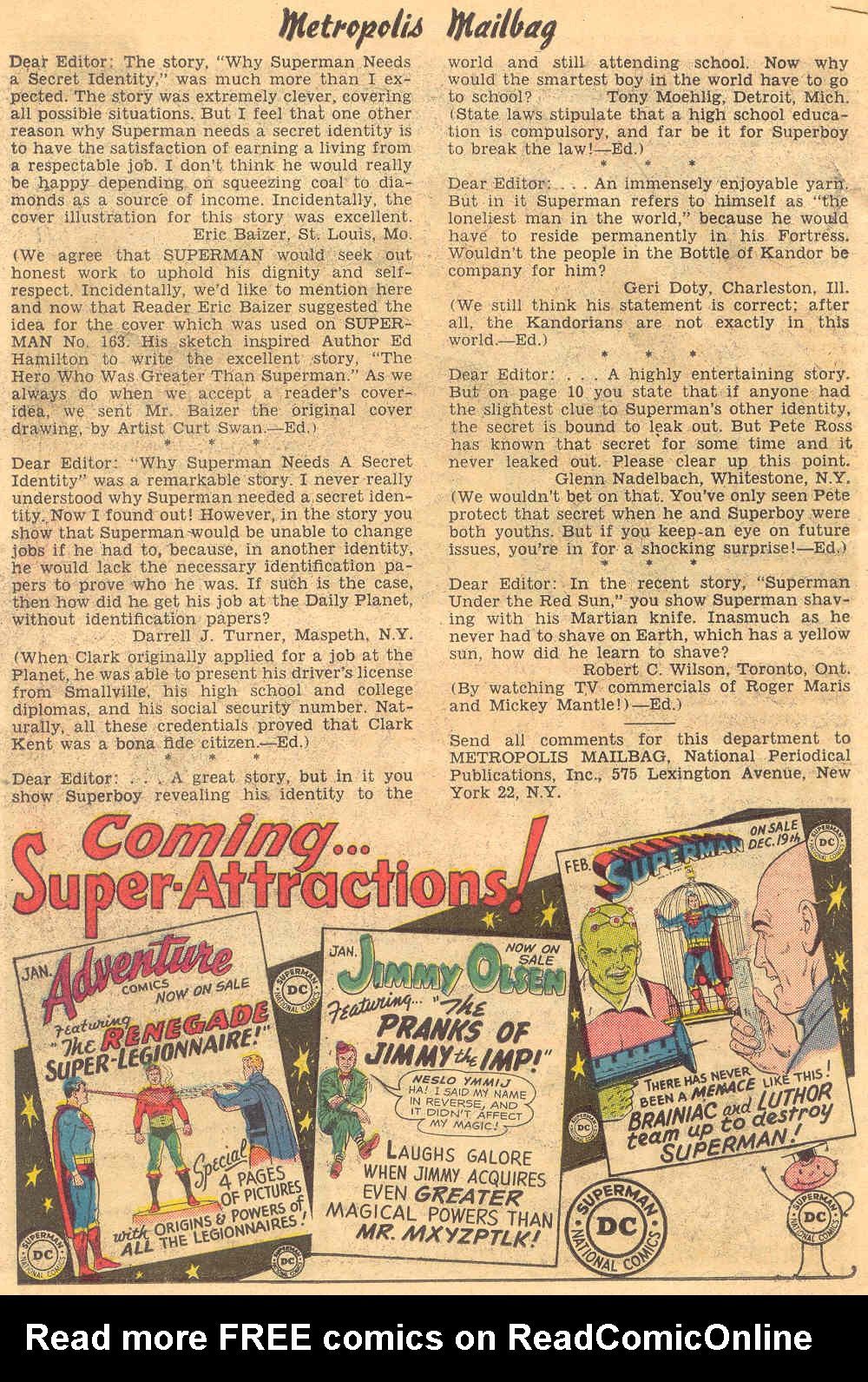 Read online Action Comics (1938) comic -  Issue #308 - 34
