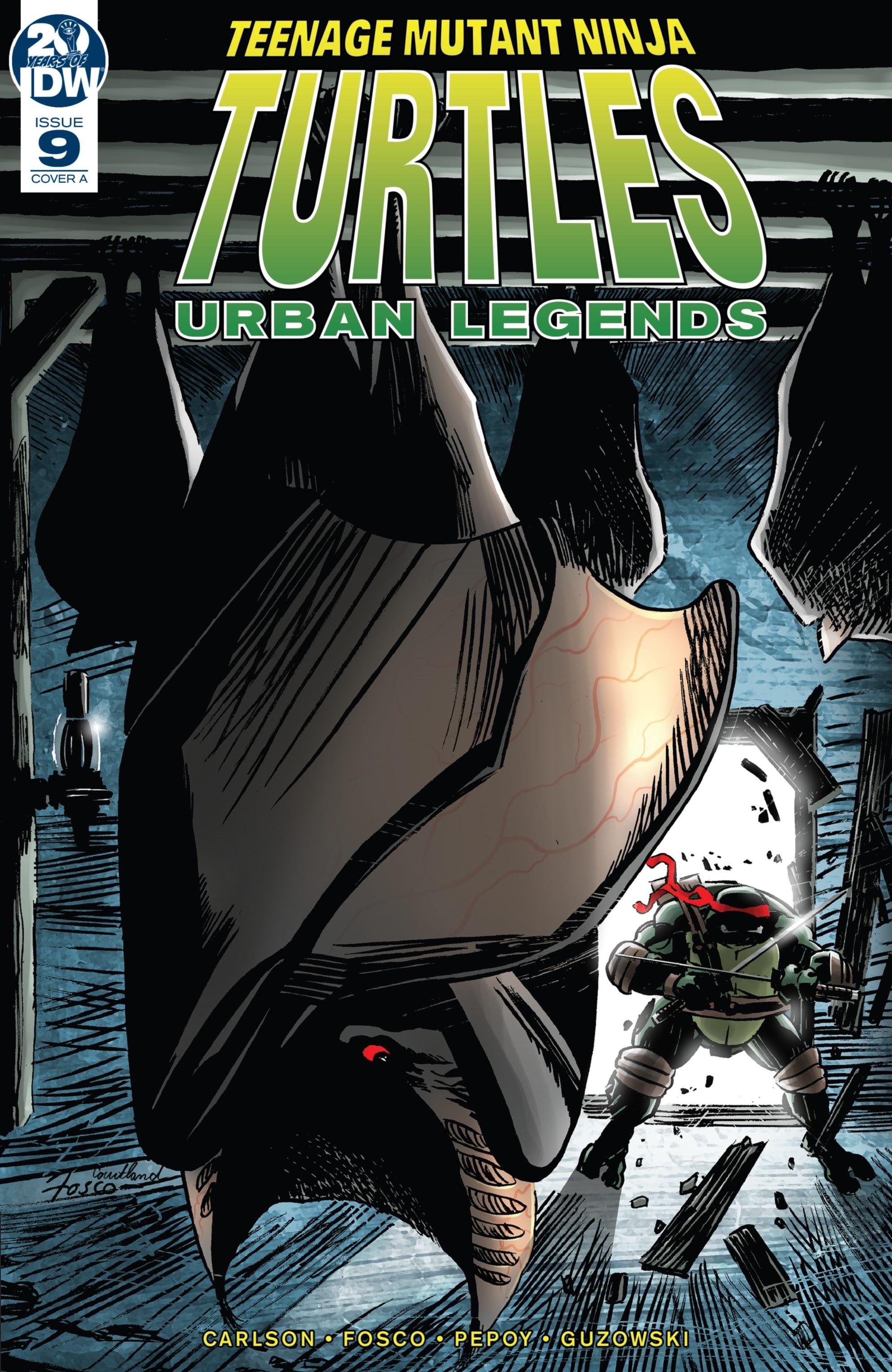 Teenage Mutant Ninja Turtles: Urban Legends 9 Page 1
