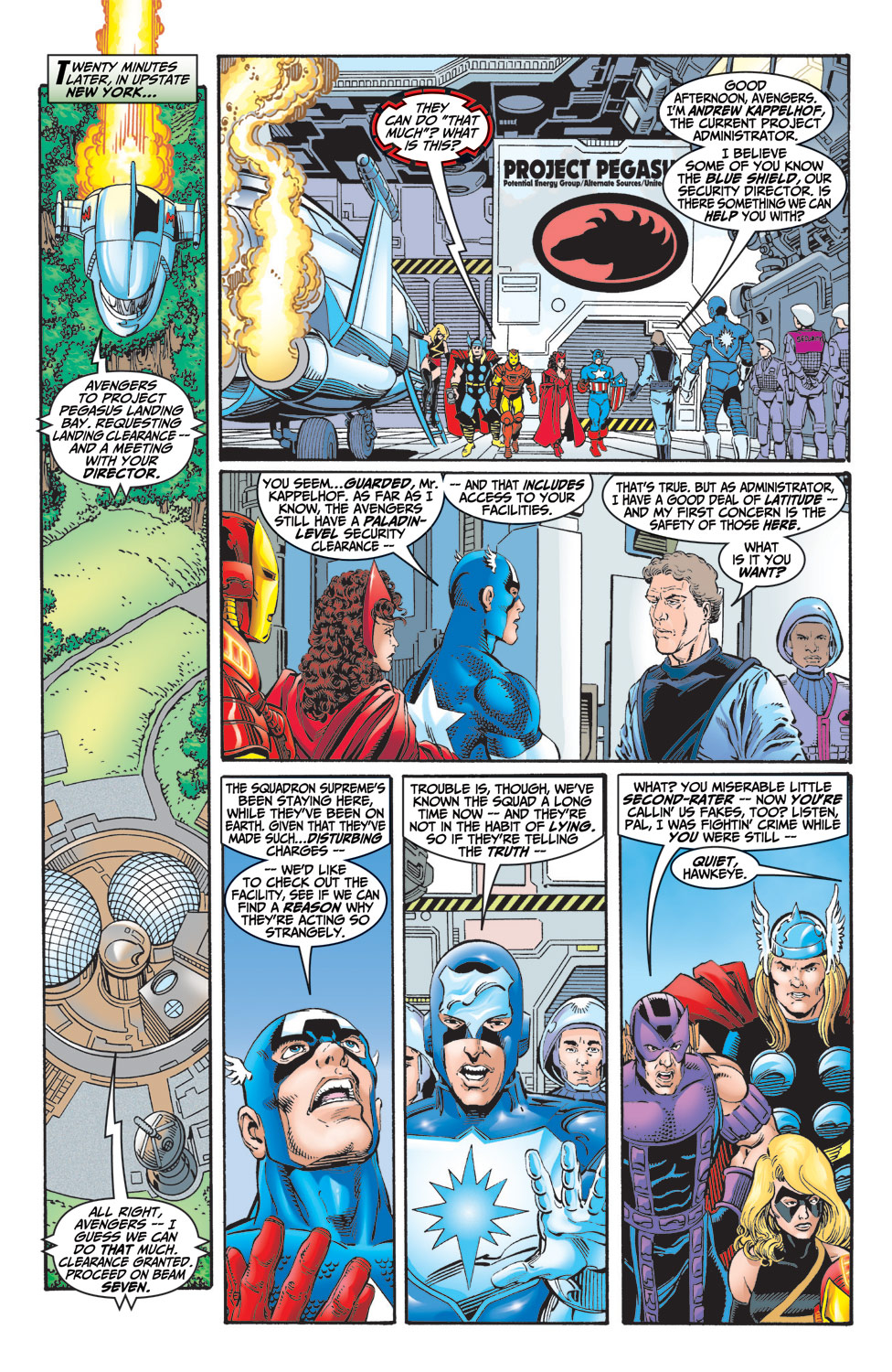 Read online Avengers (1998) comic -  Issue #6 - 8