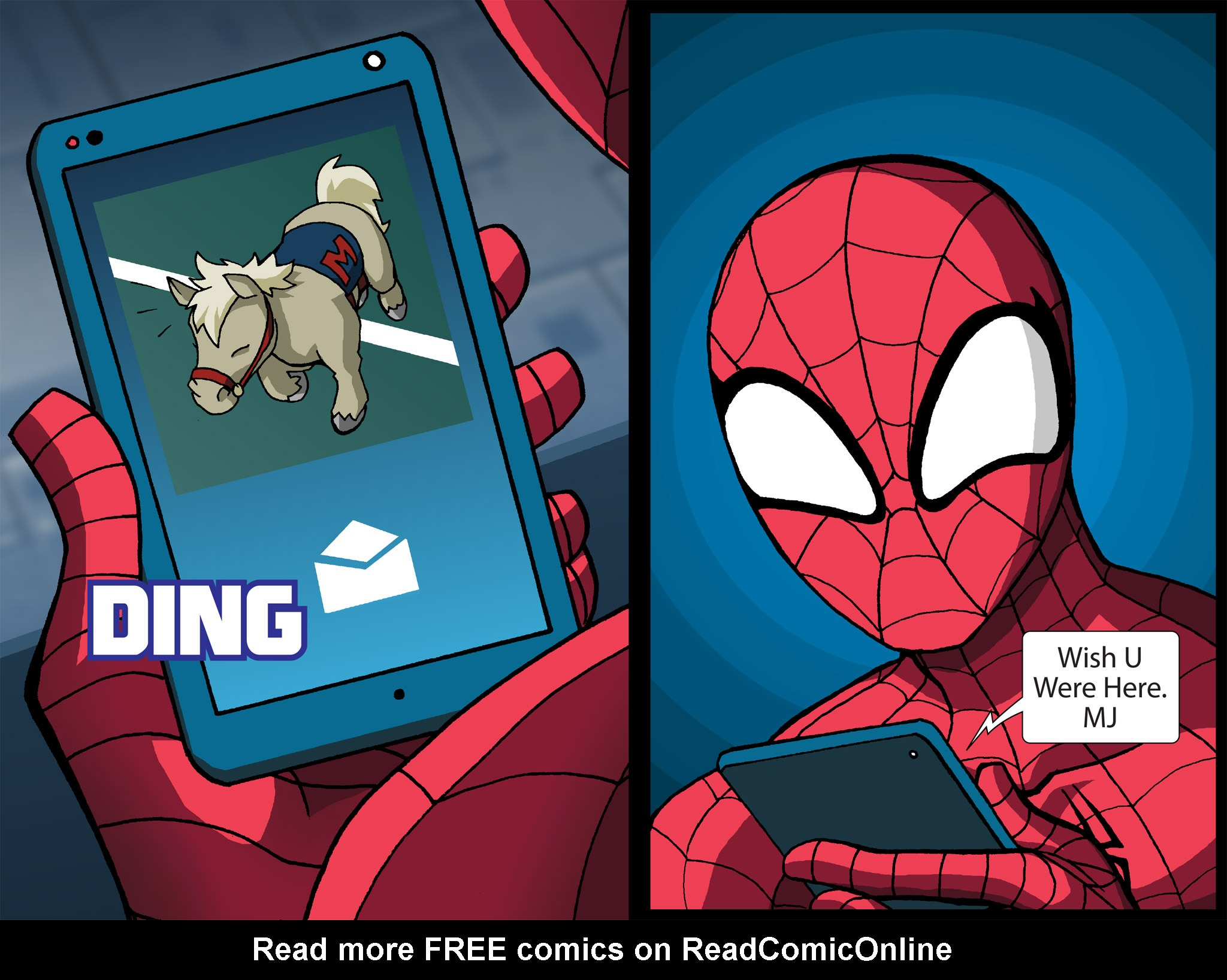 Read online Ultimate Spider-Man (Infinite Comics) (2015) comic -  Issue #24 - 38
