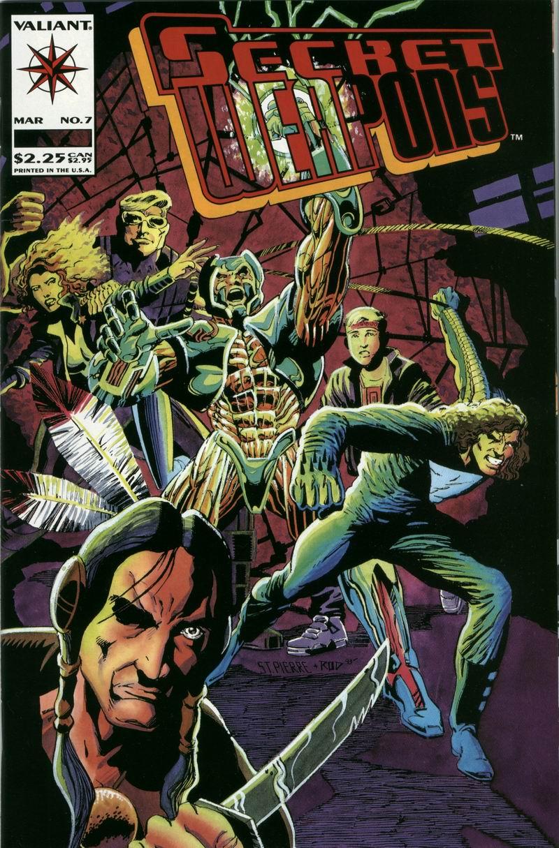 Read online Secret Weapons comic -  Issue #7 - 1