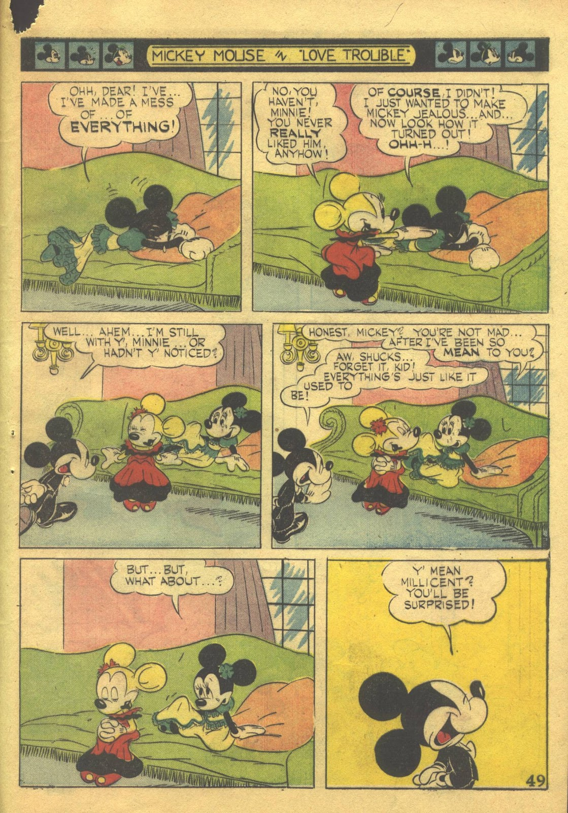 Walt Disney's Comics and Stories issue 39 - Page 51