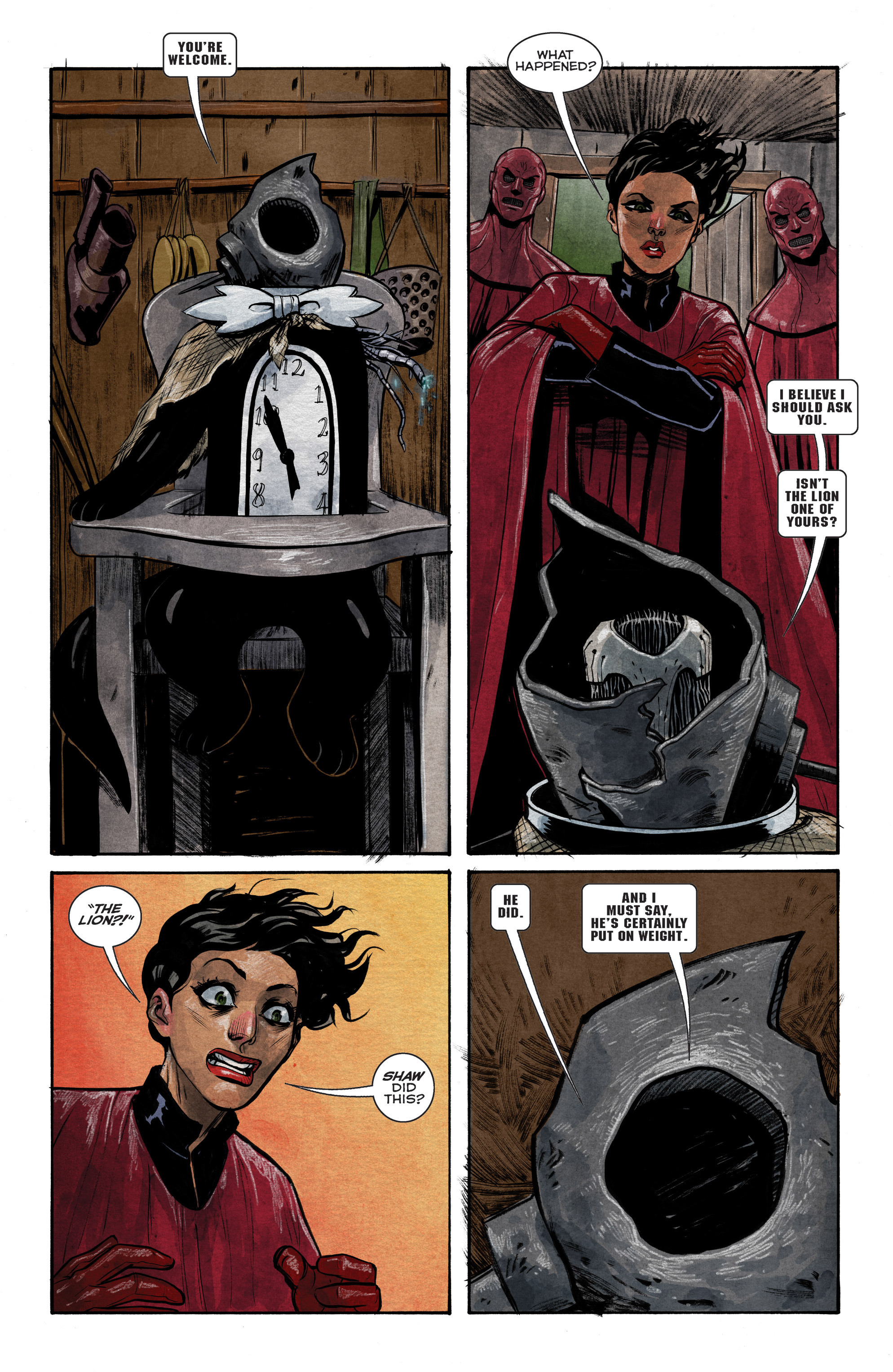 Read online Shutter comic -  Issue #14 - 9