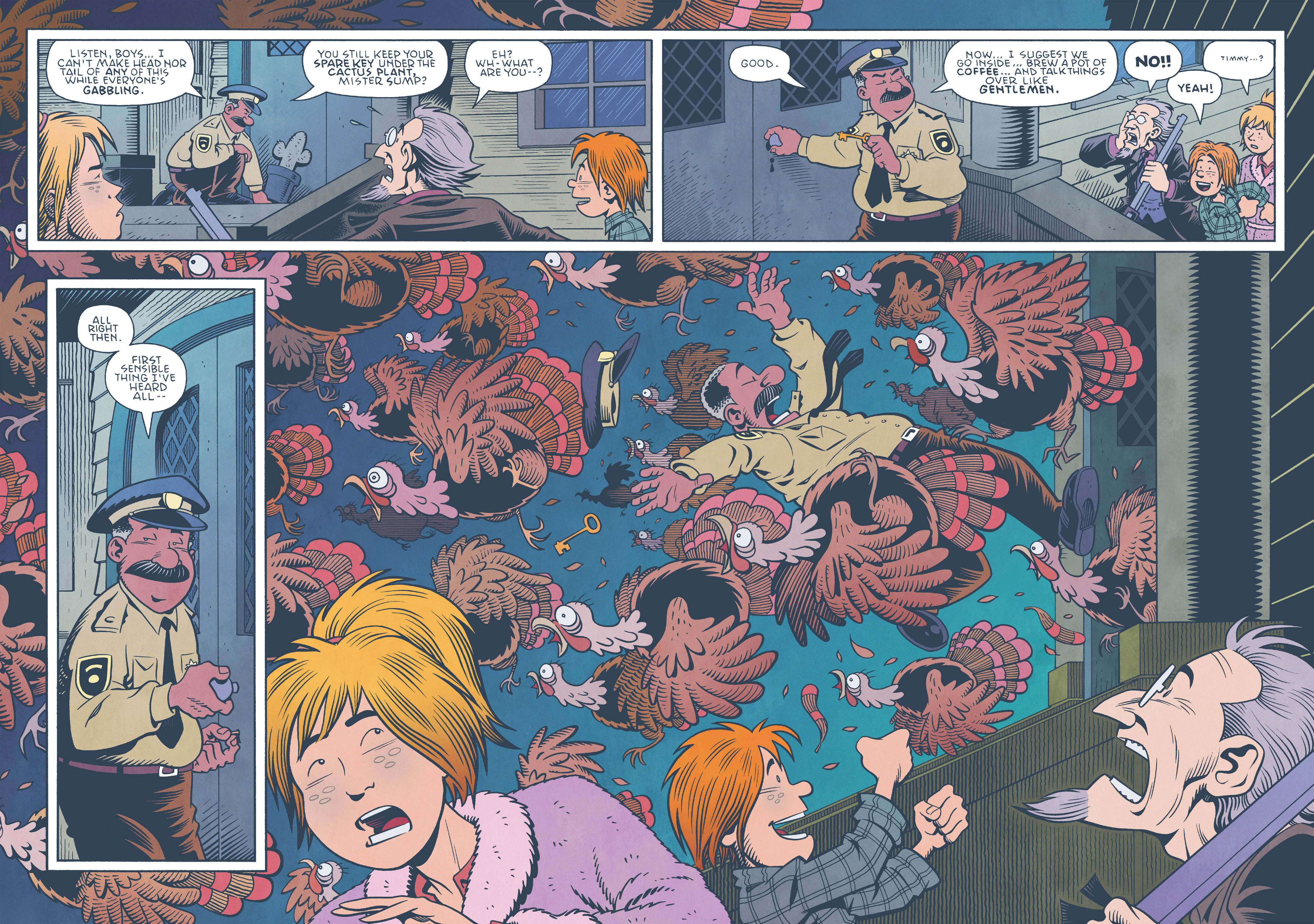 Read online Jim Henson's The Musical Monsters of Turkey Hollow comic -  Issue # Full - 73