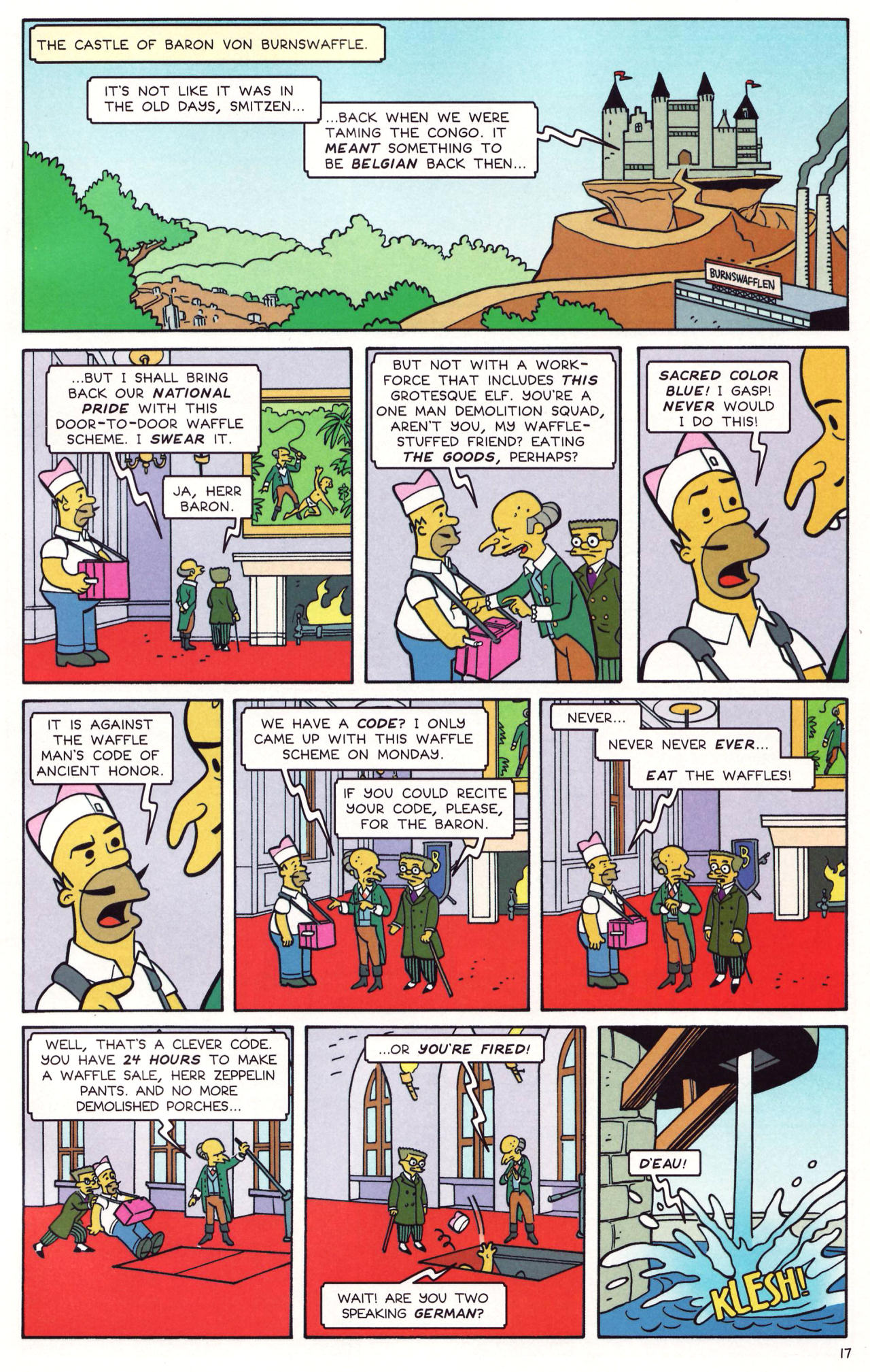 Read online Simpsons Comics comic -  Issue #131 - 14