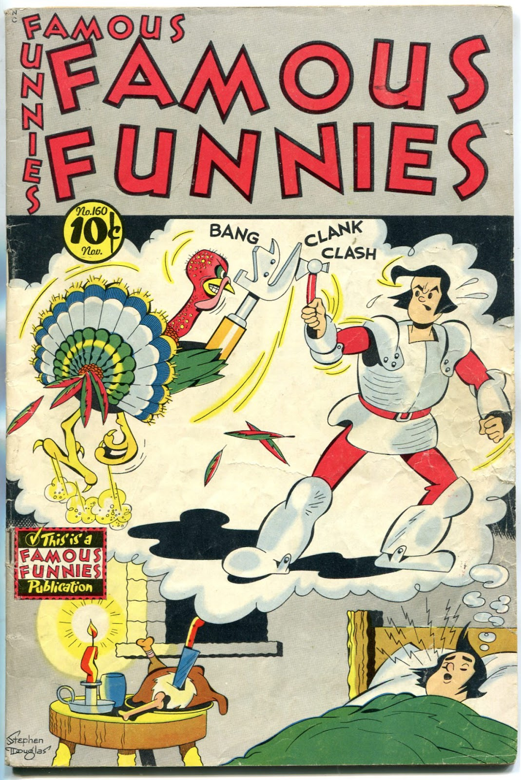 Read online Famous Funnies comic -  Issue #160 - 1