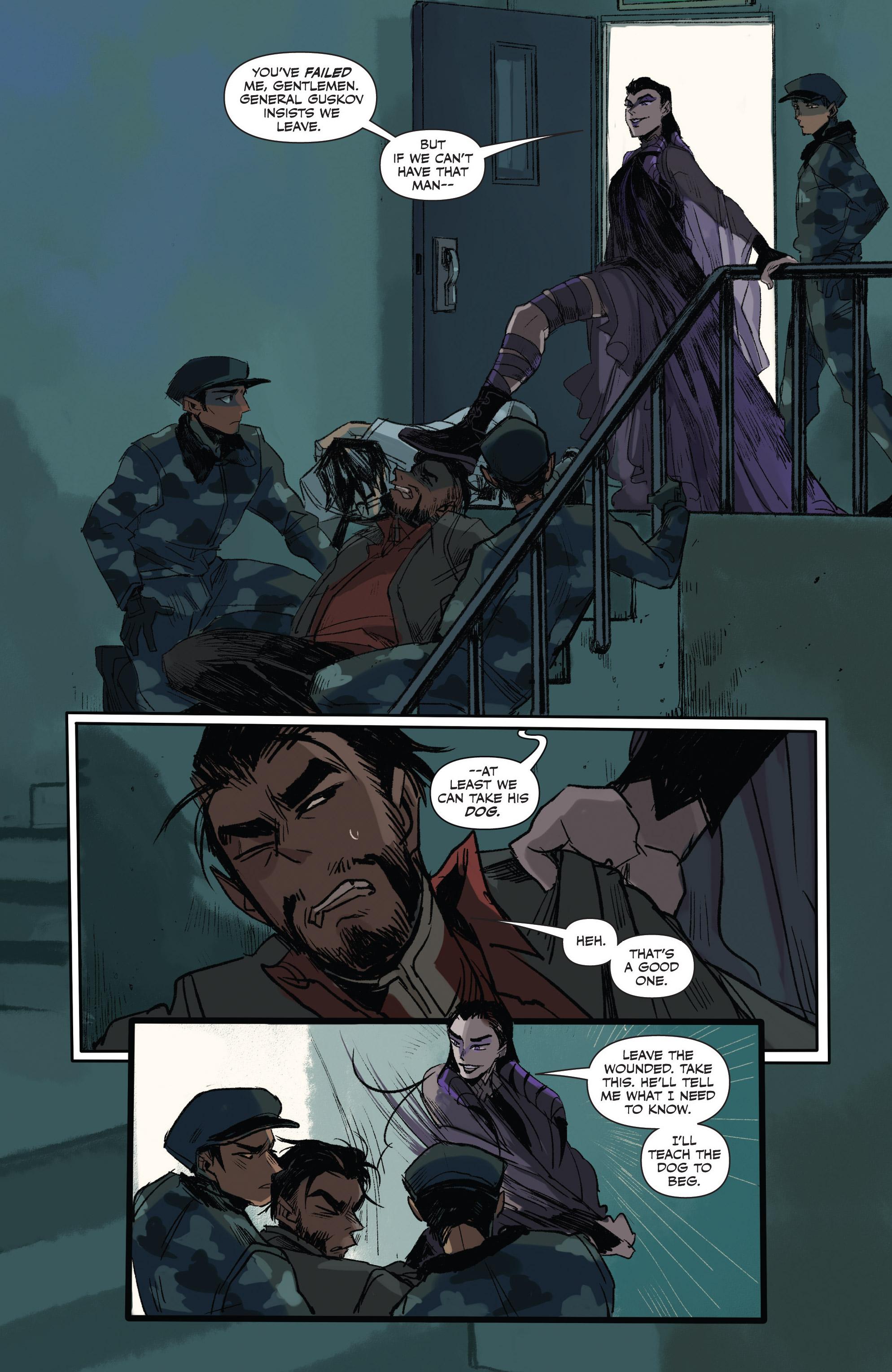 Read online Freelance comic -  Issue #3 - 10