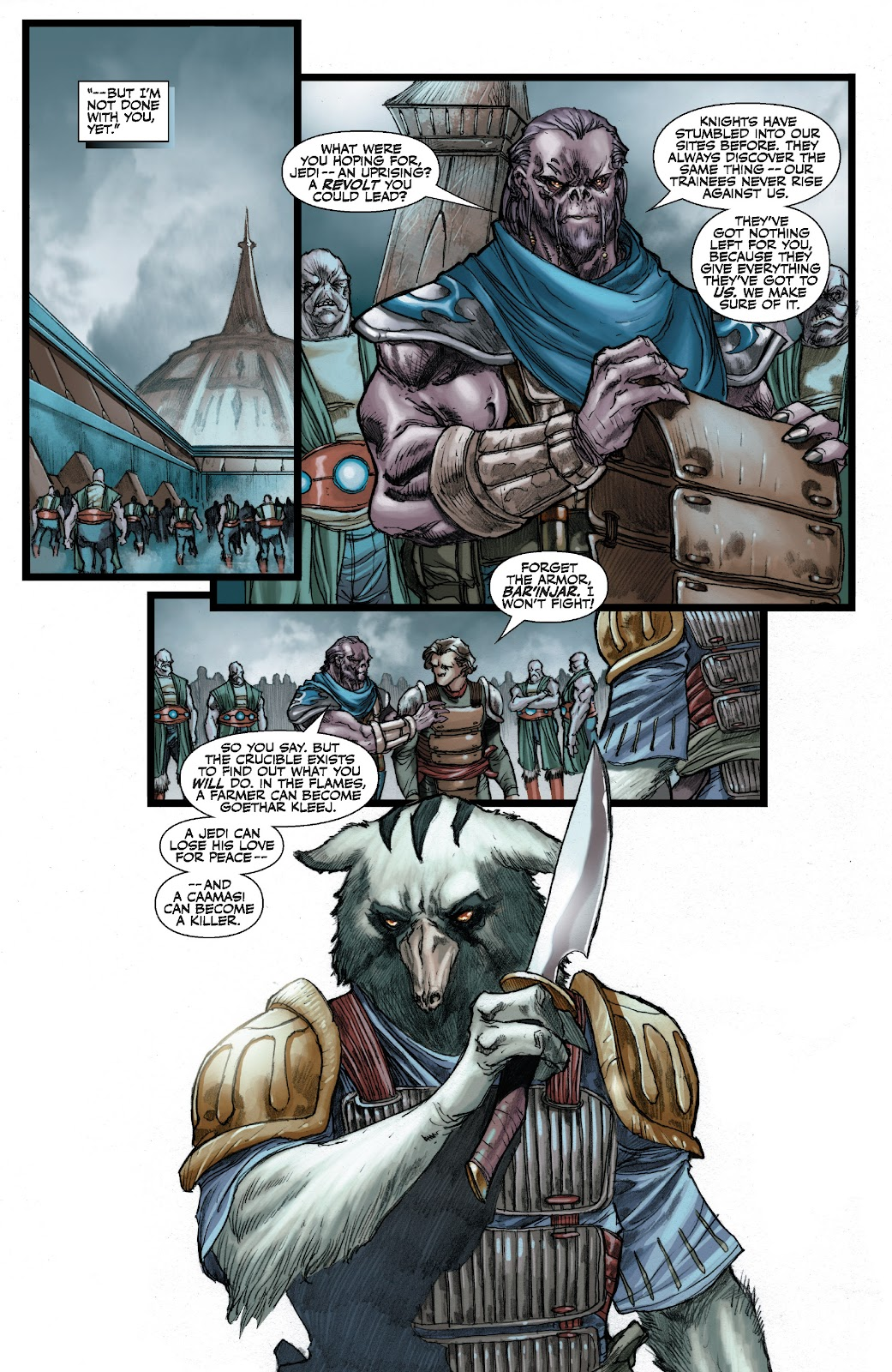 Read online Star Wars Legends: The Old Republic - Epic Collection comic -  Issue # TPB 3 (Part 2) - 100