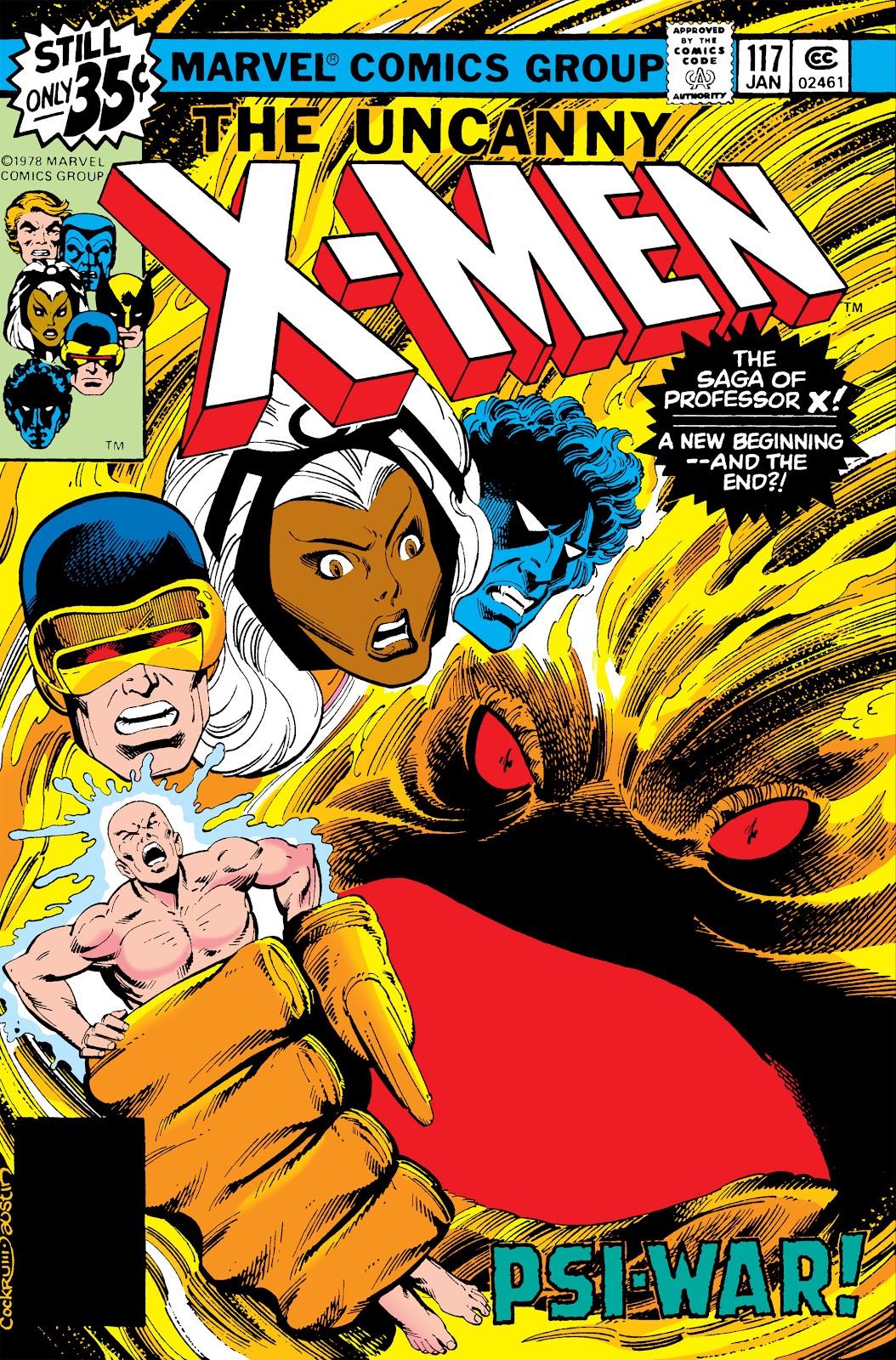 Uncanny X-Men (1963) issue 117 - Page 1