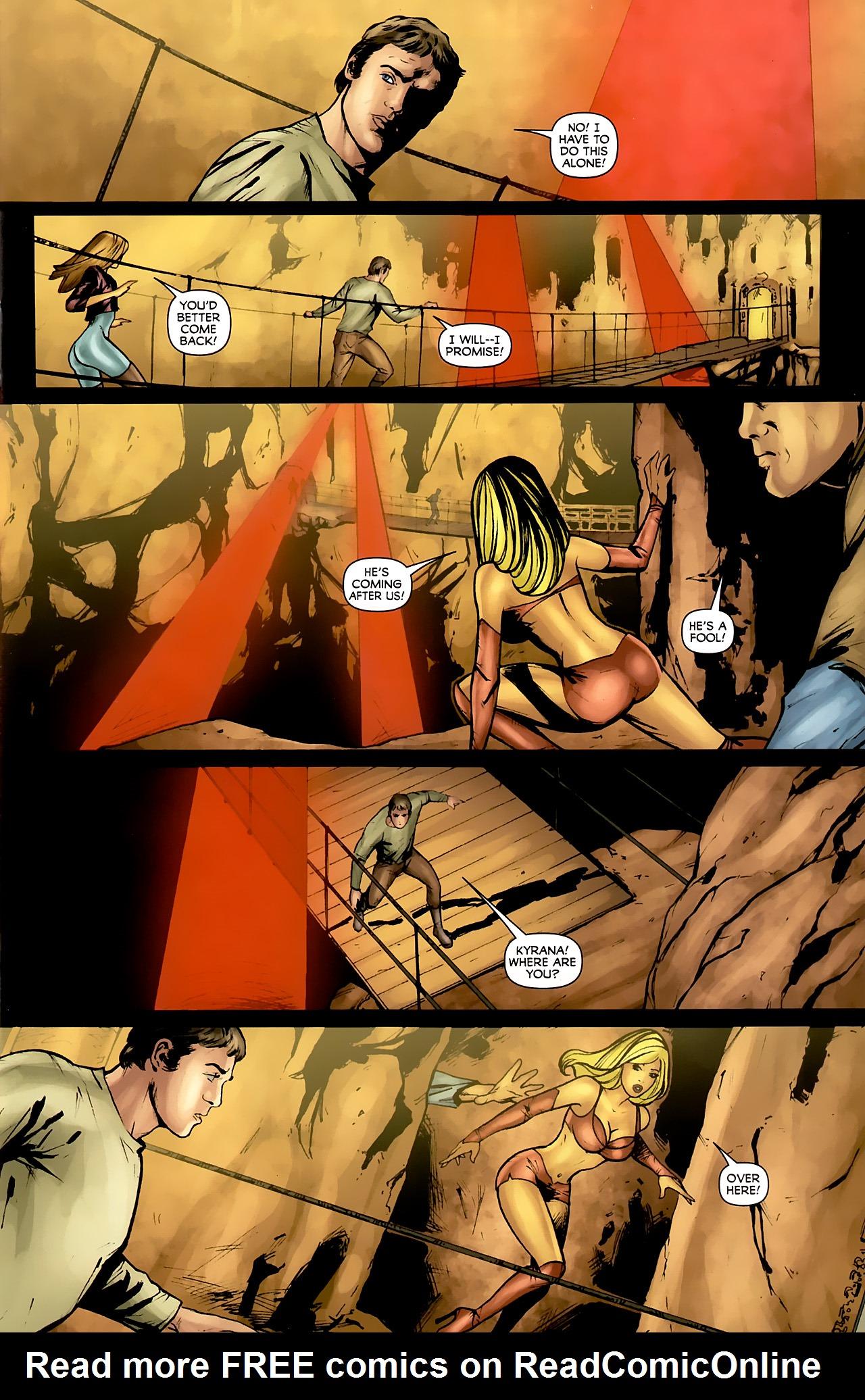 Read online Stargate: Daniel Jackson comic -  Issue #4 - 5