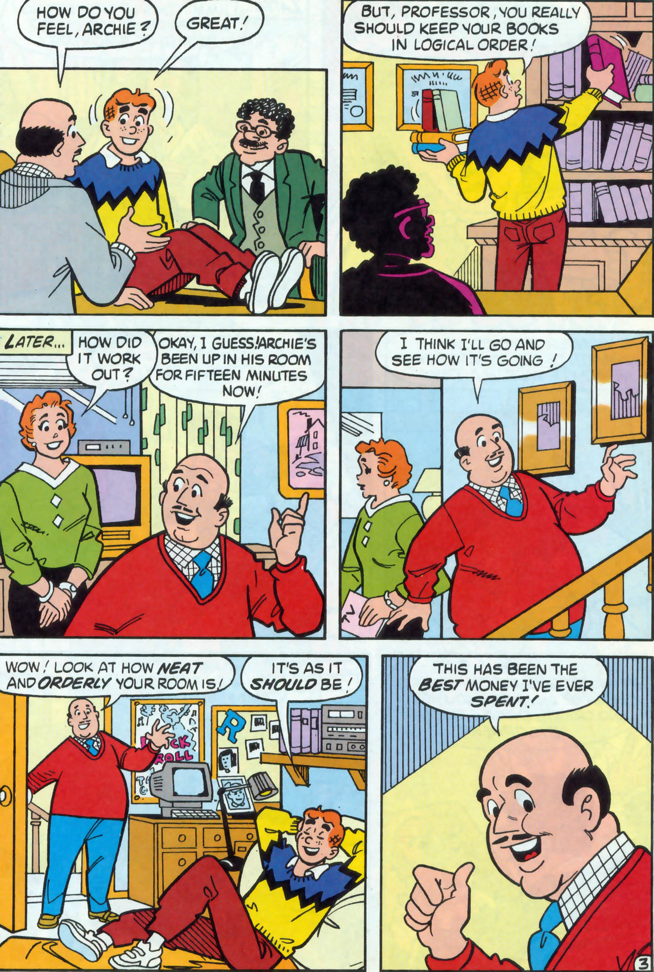 Read online Archie (1960) comic -  Issue #470 - 16