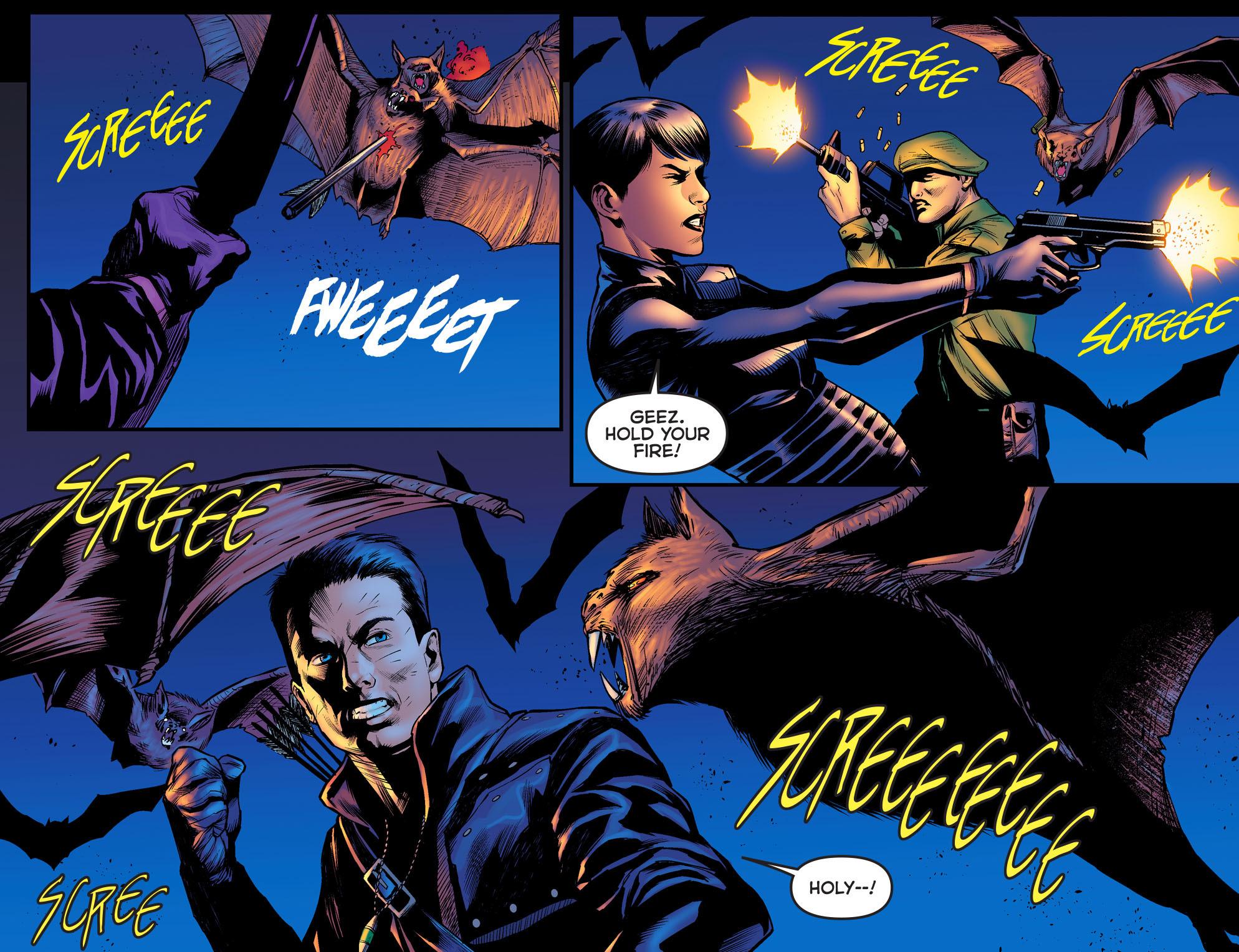 Read online Arrow: The Dark Archer comic -  Issue #3 - 16
