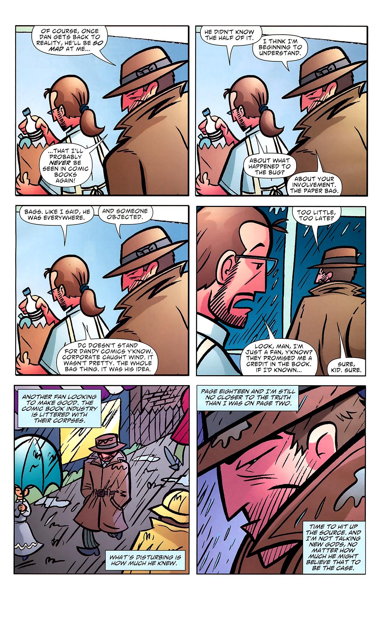 Read online Ambush Bug: Year None comic -  Issue #7 - 19