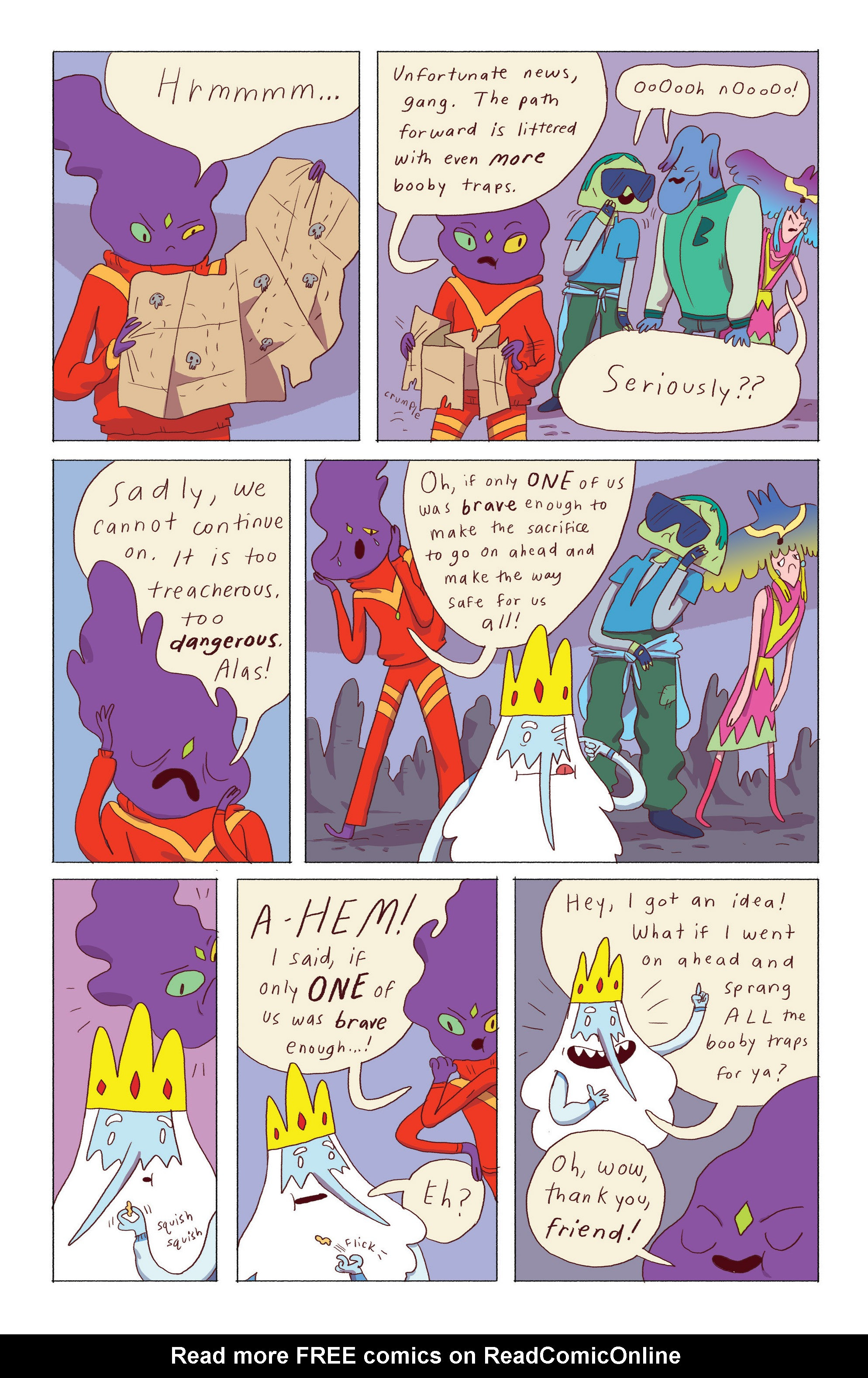 Read online Adventure Time: Ice King comic -  Issue #5 - 7