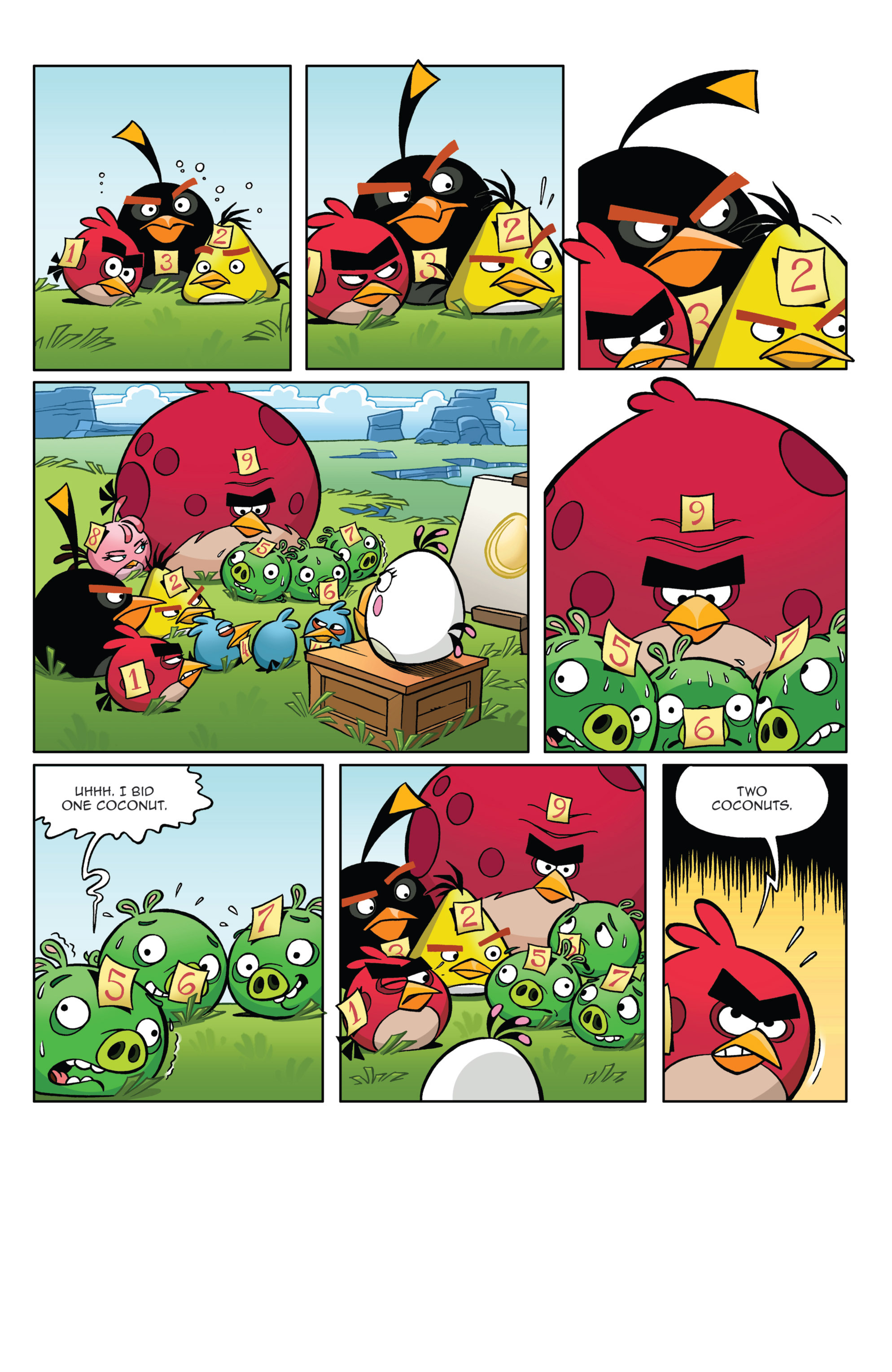 Read online Angry Birds Comics (2014) comic -  Issue #4 - 16
