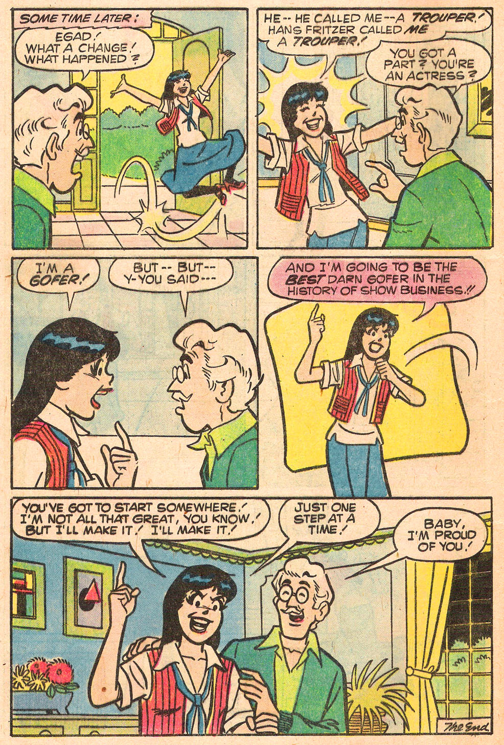 Read online Archie's Girls Betty and Veronica comic -  Issue #276 - 8