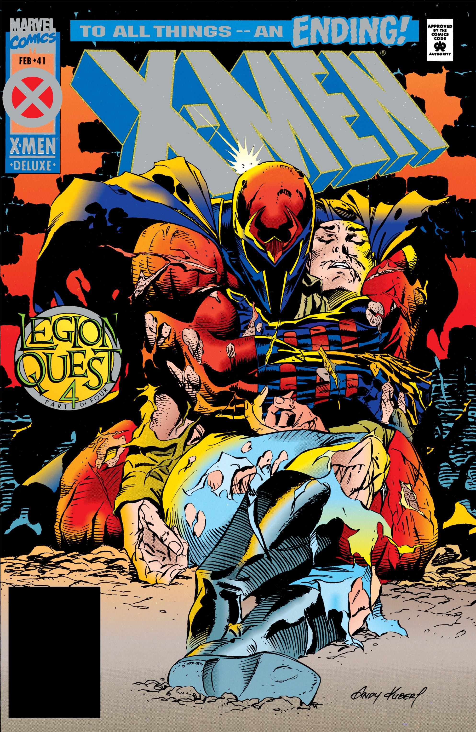 X-Men (1991) 41 Page 0