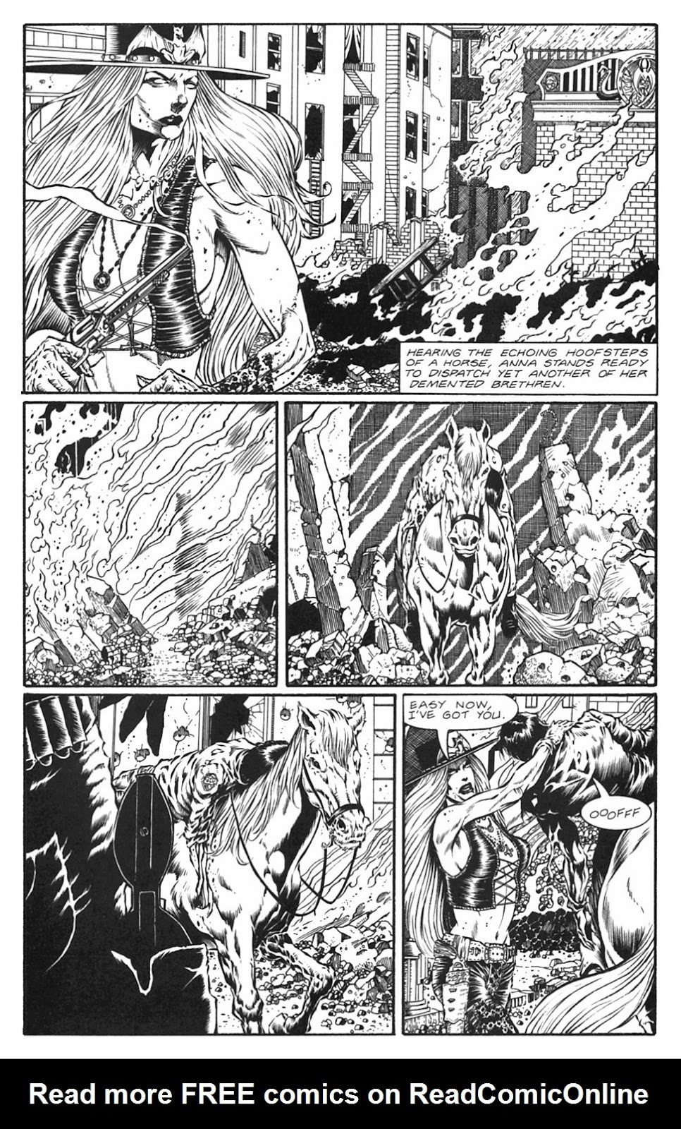 Read online Gunfighters in Hell comic -  Issue #5 - 19