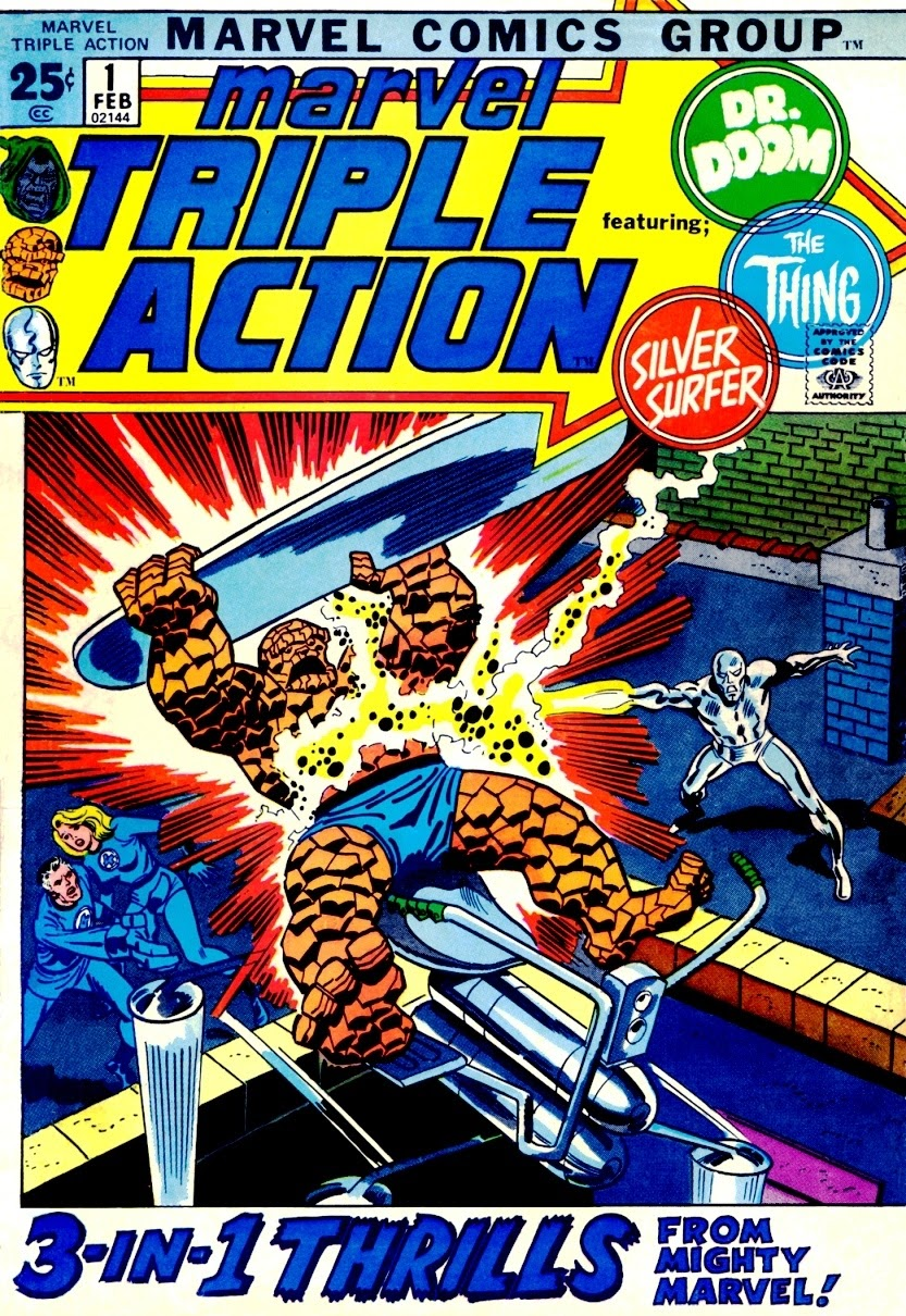 Marvel Triple Action (1972) issue 1 - Page 1