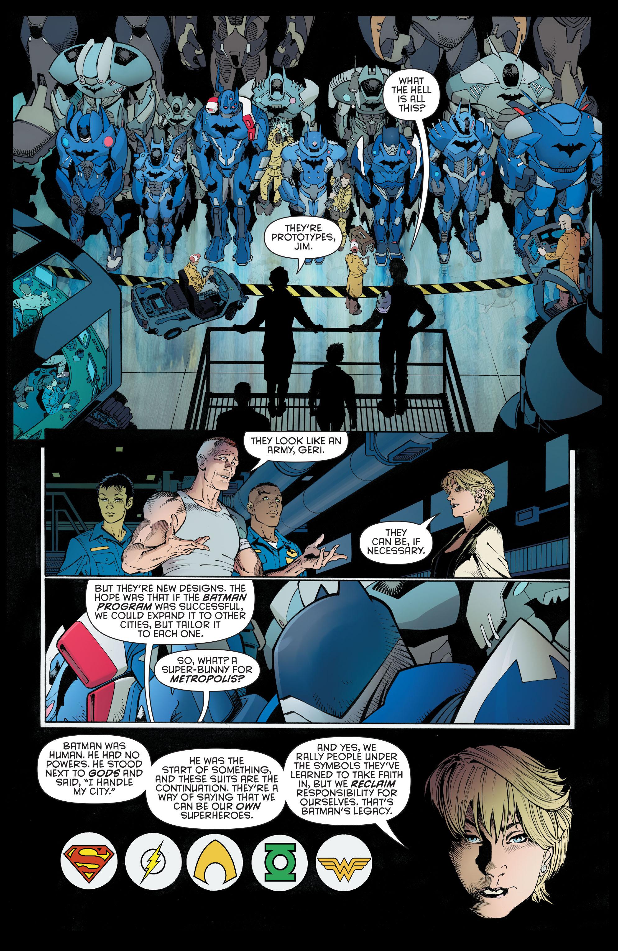 Read online Batman (2011) comic -  Issue # _TPB 9 - 18