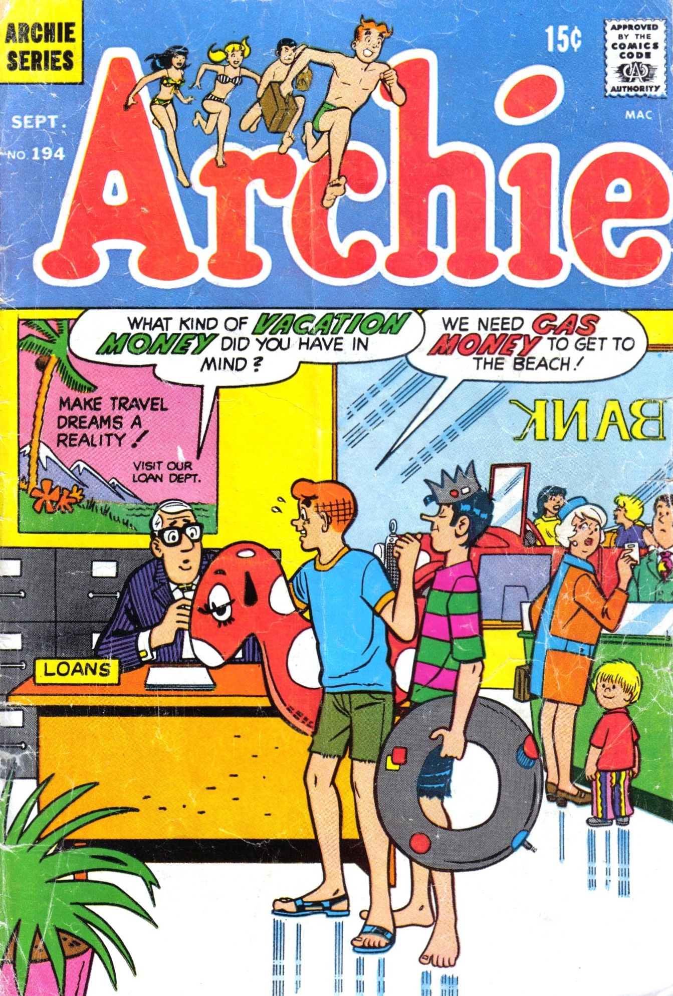 Read online Archie (1960) comic -  Issue #194 - 1