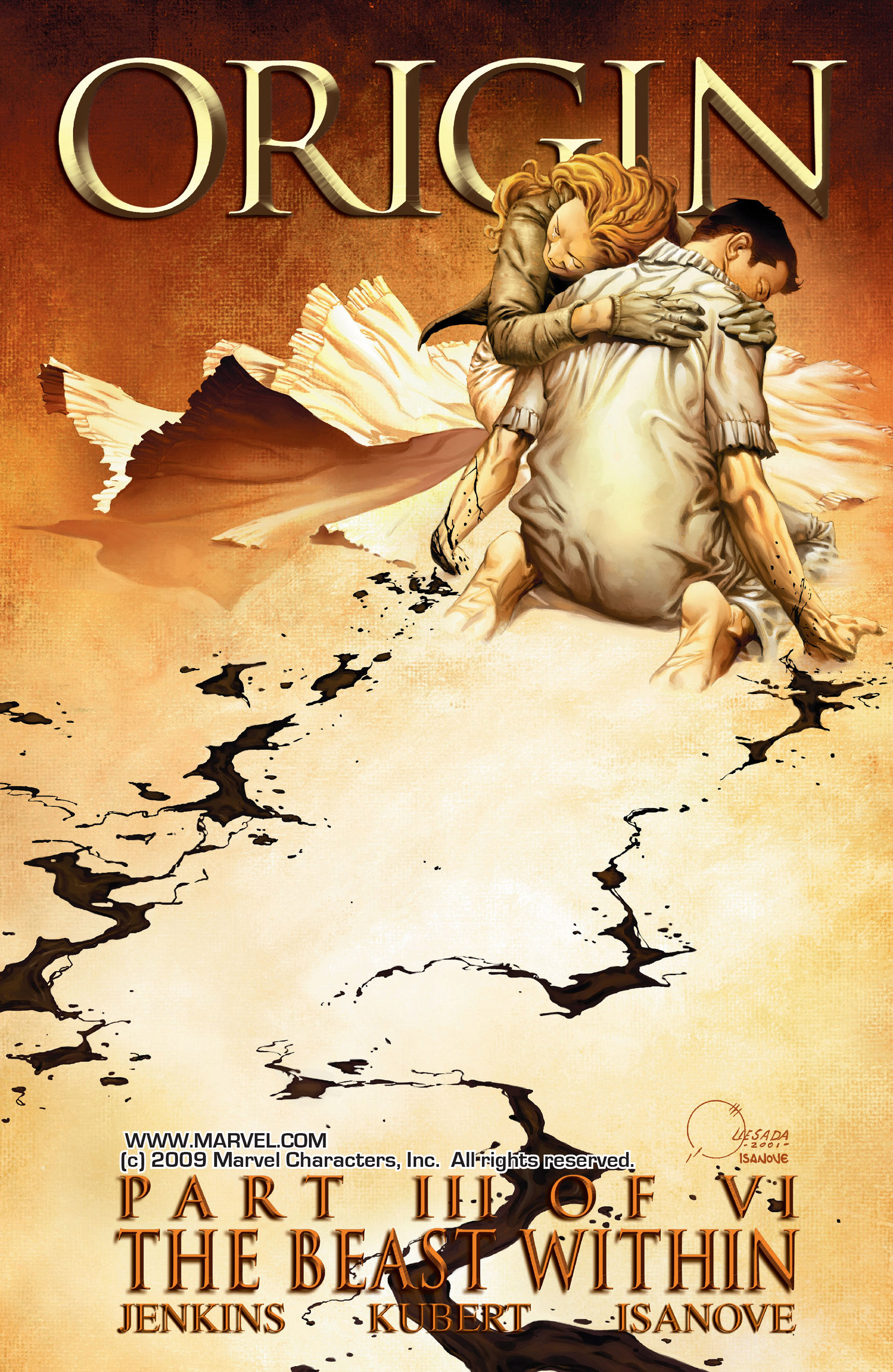 Read online Wolverine: The Origin comic -  Issue #3 - 1