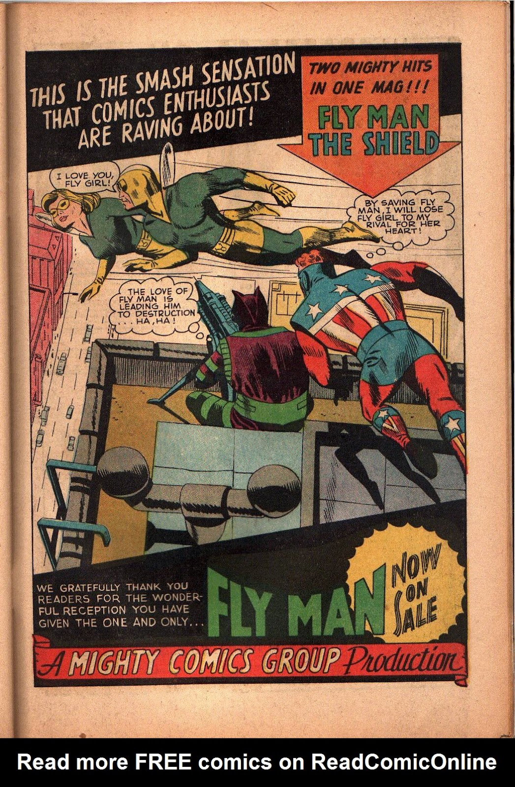 The Mighty Crusaders (1965) Issue #3 #3 - English 23