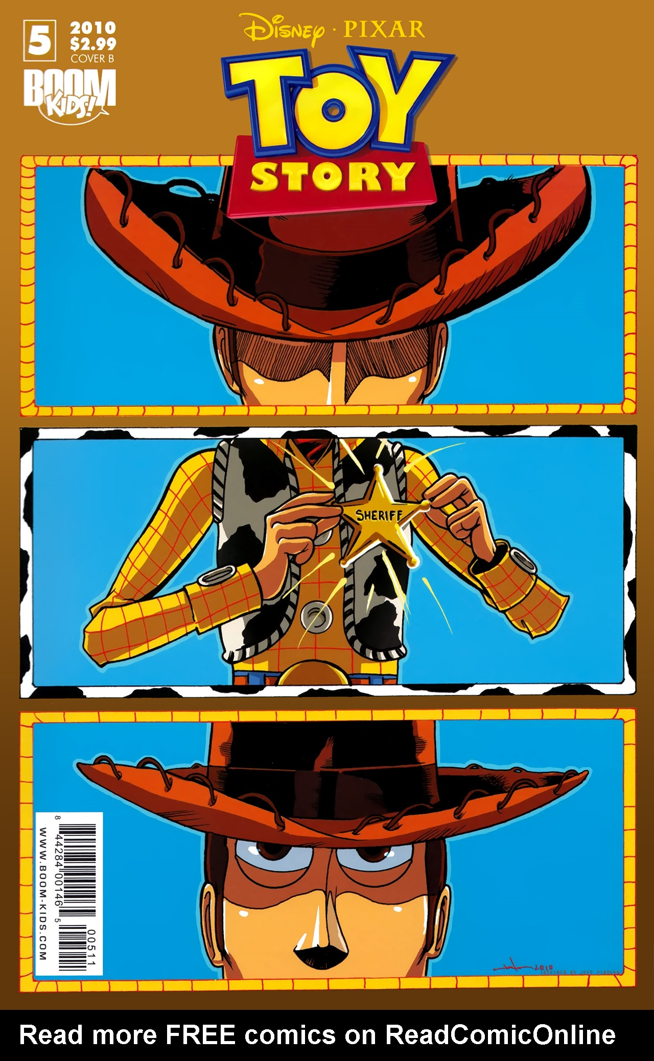 Read online Toy Story (2009) comic -  Issue #5 - 2
