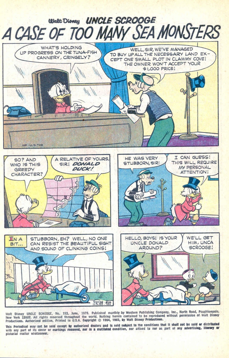 Read online Uncle Scrooge (1953) comic -  Issue #153 - 3