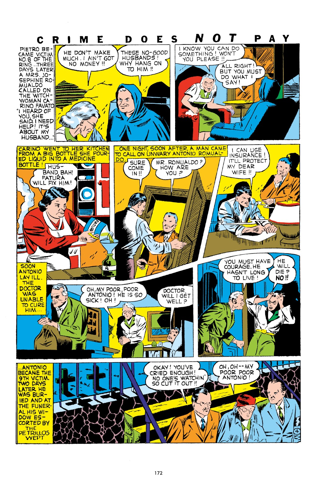 Read online Crime Does Not Pay Archives comic -  Issue # TPB 1 (Part 2) - 75