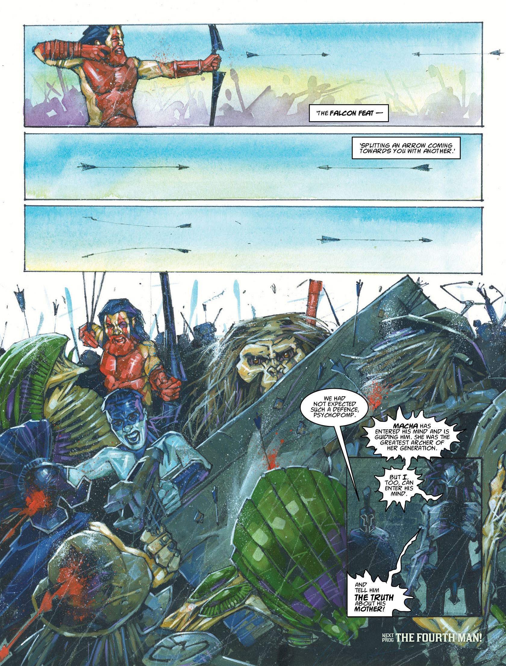 Read online 2000 AD comic -  Issue #1986 - 17