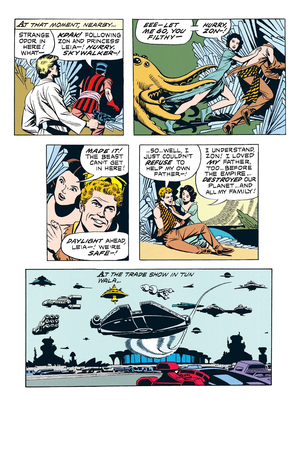 Read online Star Wars Legends: The Newspaper Strips - Epic Collection comic -  Issue # TPB (Part 3) - 38