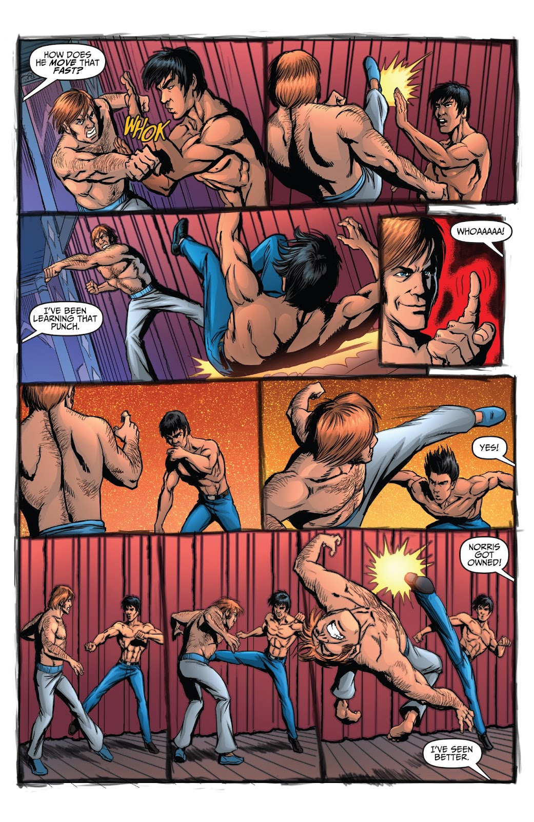 Bruce Lee: Walk of the Dragon issue Full - Page 17