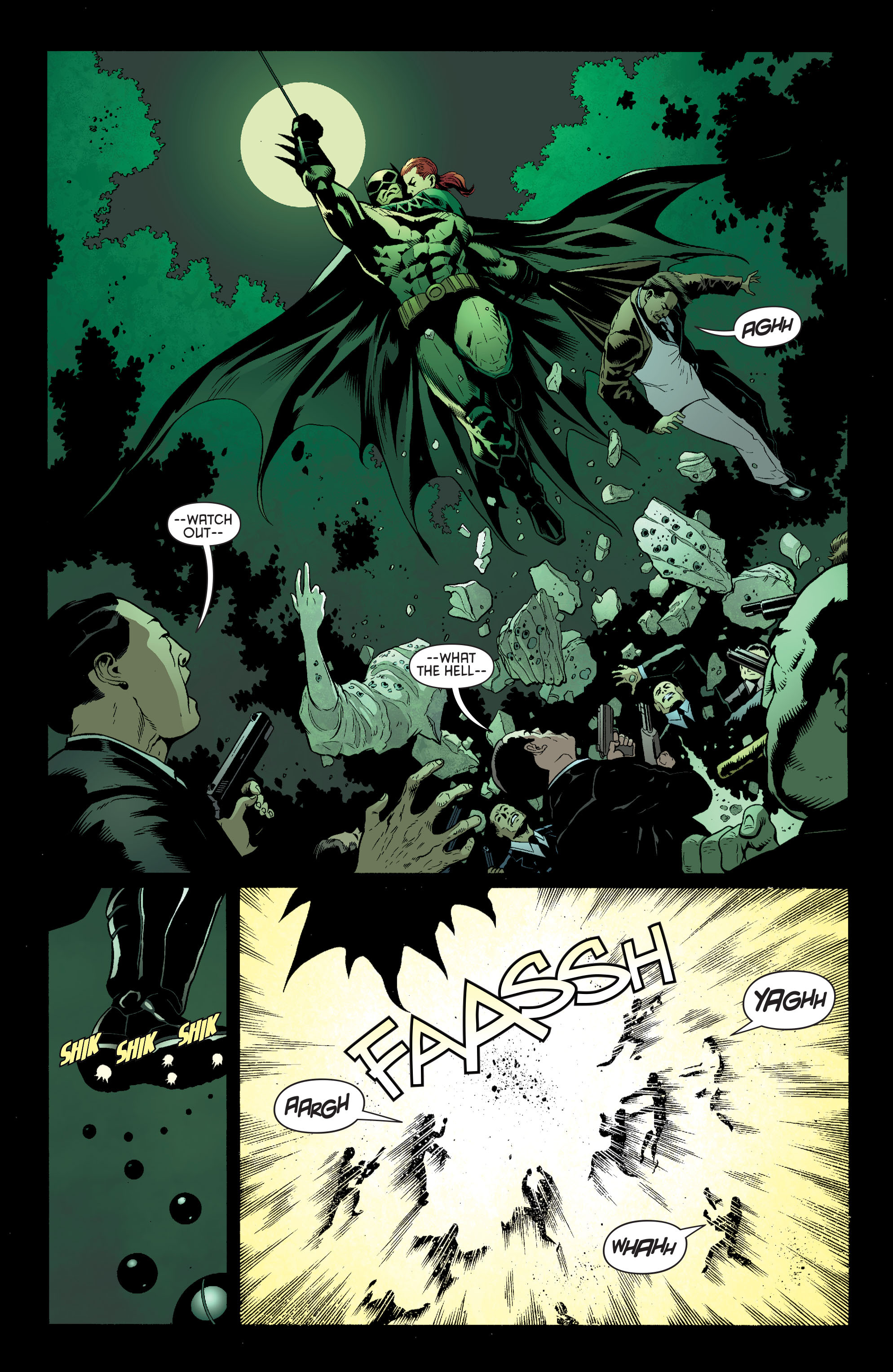 Read online Batman and Robin (2011) comic -  Issue #27 - Batman and Two-Face - 7