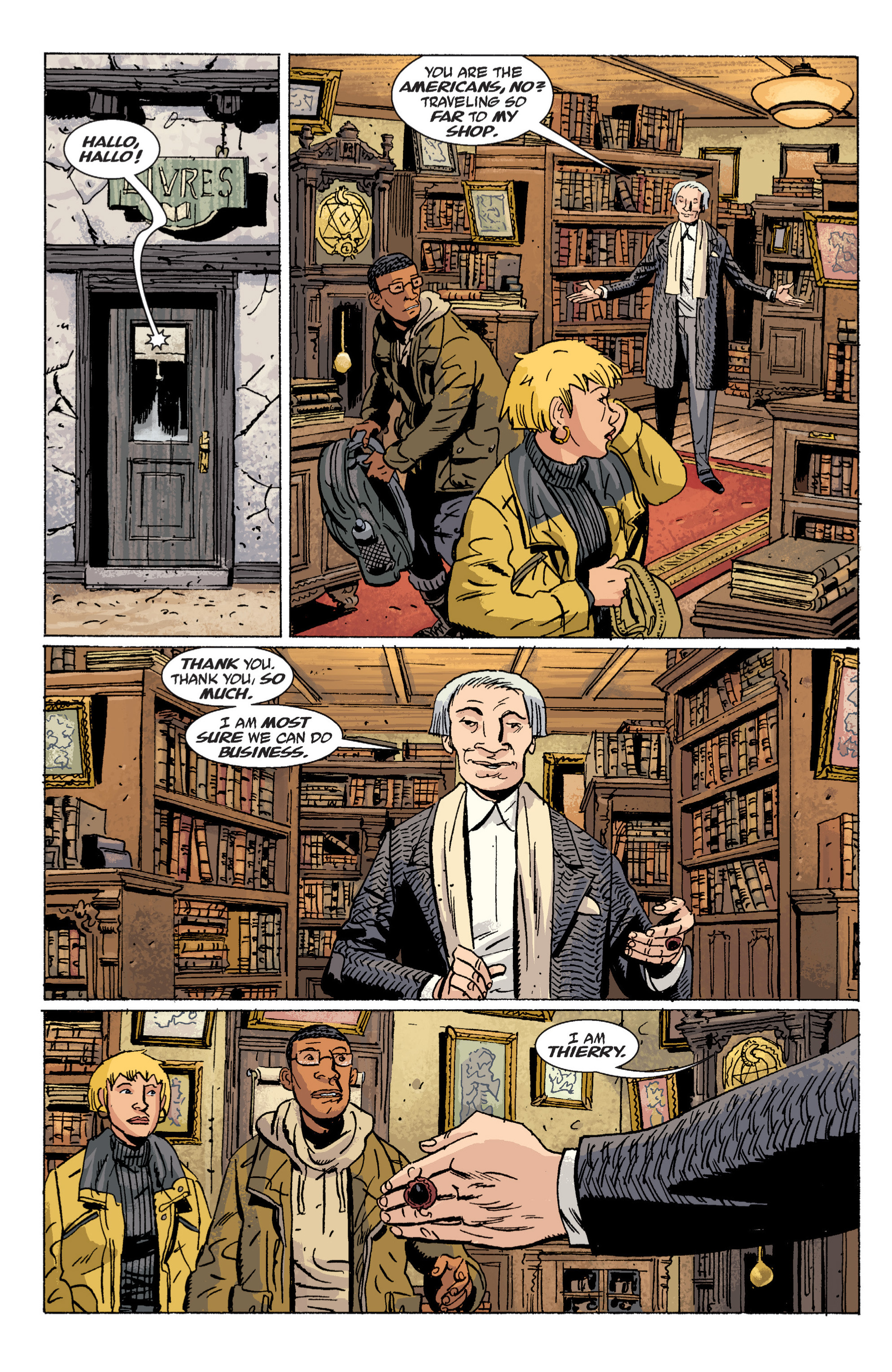 Read online B.P.R.D. (2003) comic -  Issue # TPB 6 - 19
