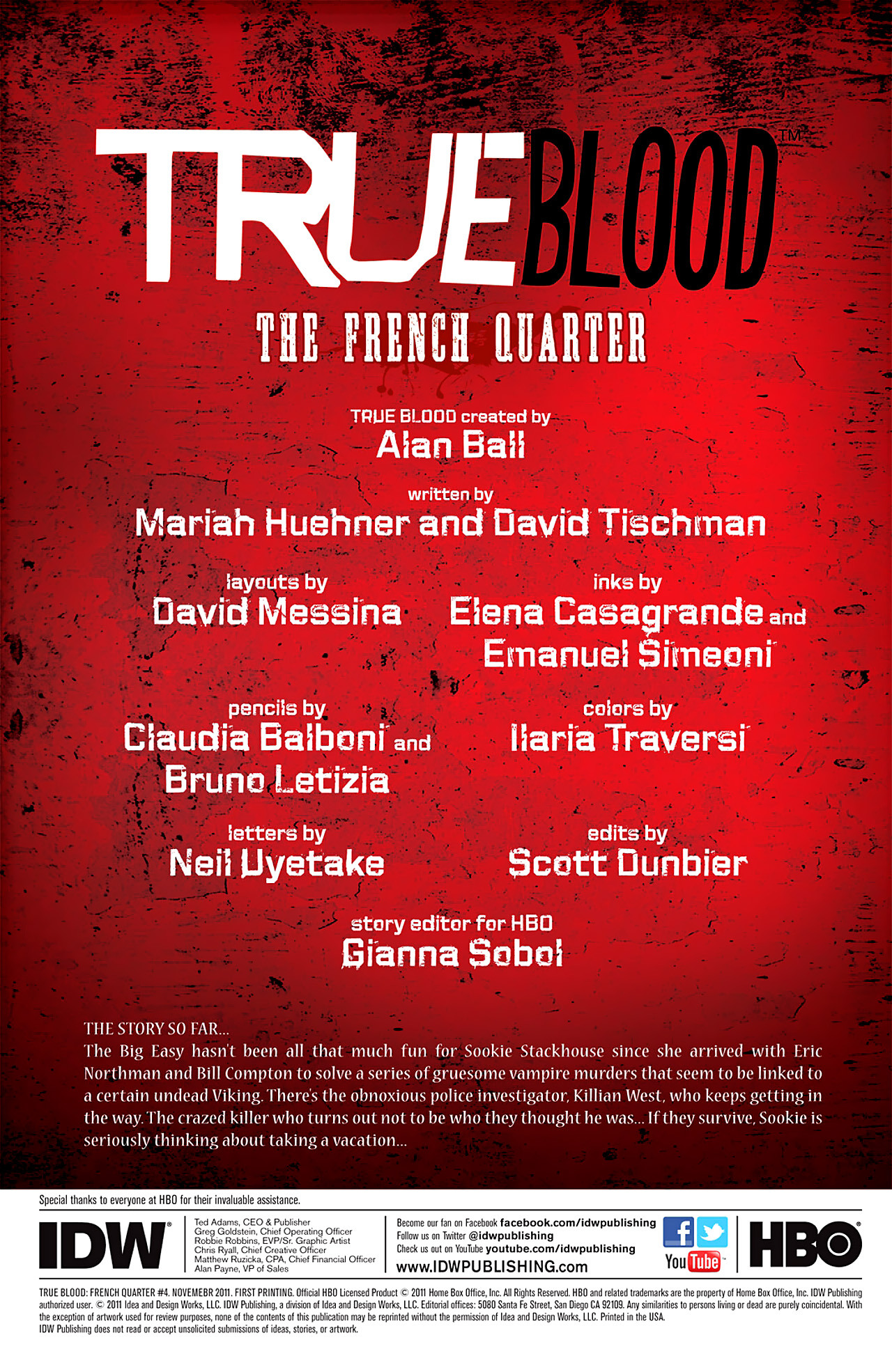 Read online True Blood: French Quarter comic -  Issue #4 - 5