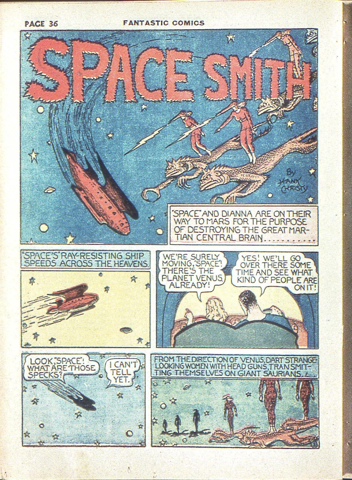 Read online Fantastic Comics comic -  Issue #3 - 38