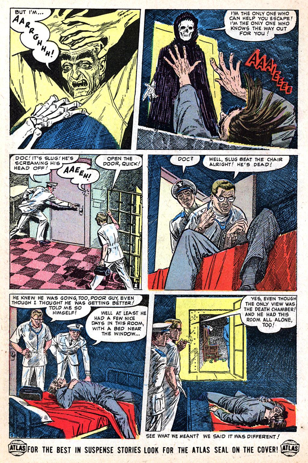 Read online Adventures into Weird Worlds comic -  Issue #17 - 20
