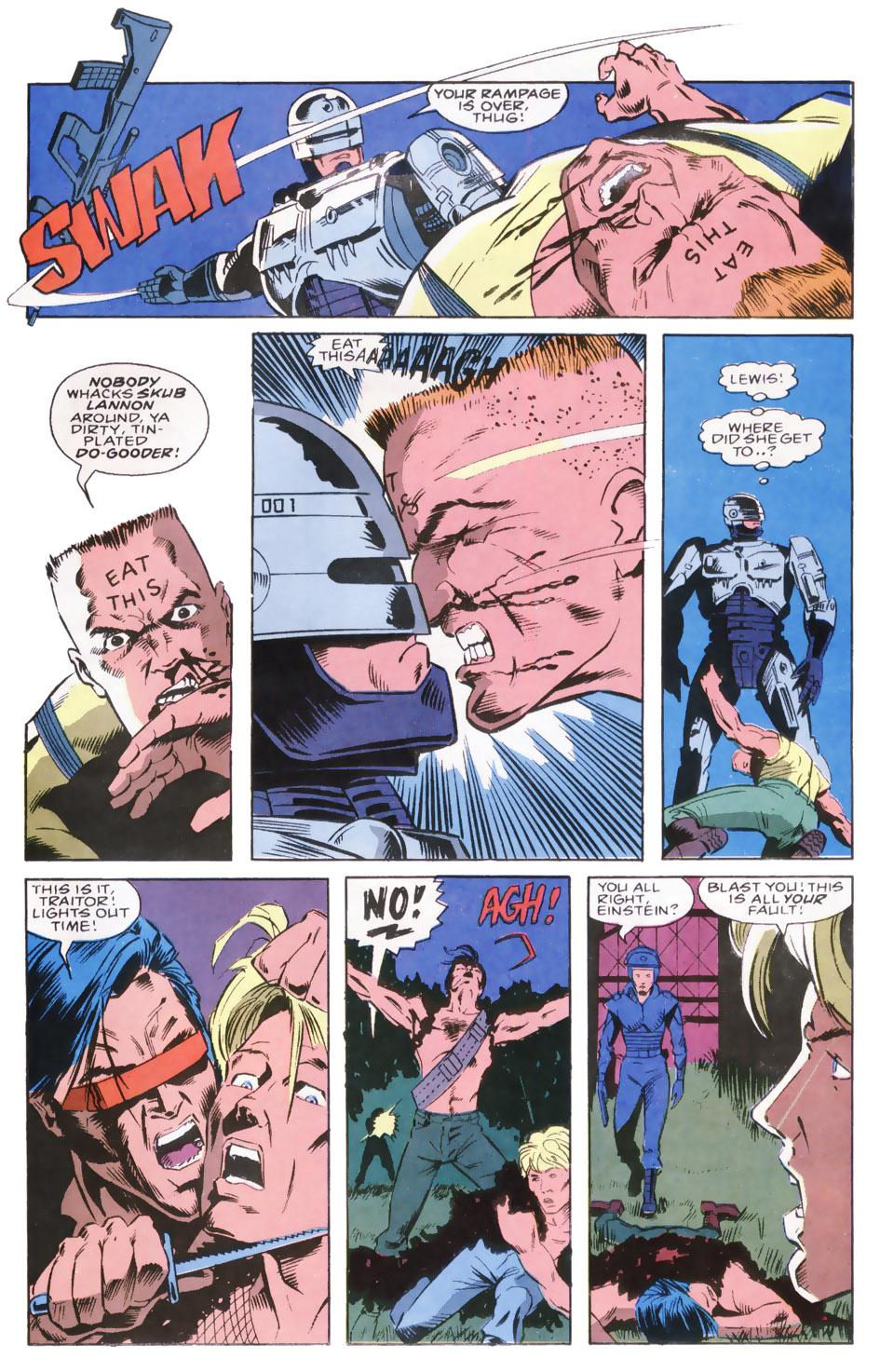 Read online Robocop (1990) comic -  Issue #8 - 22