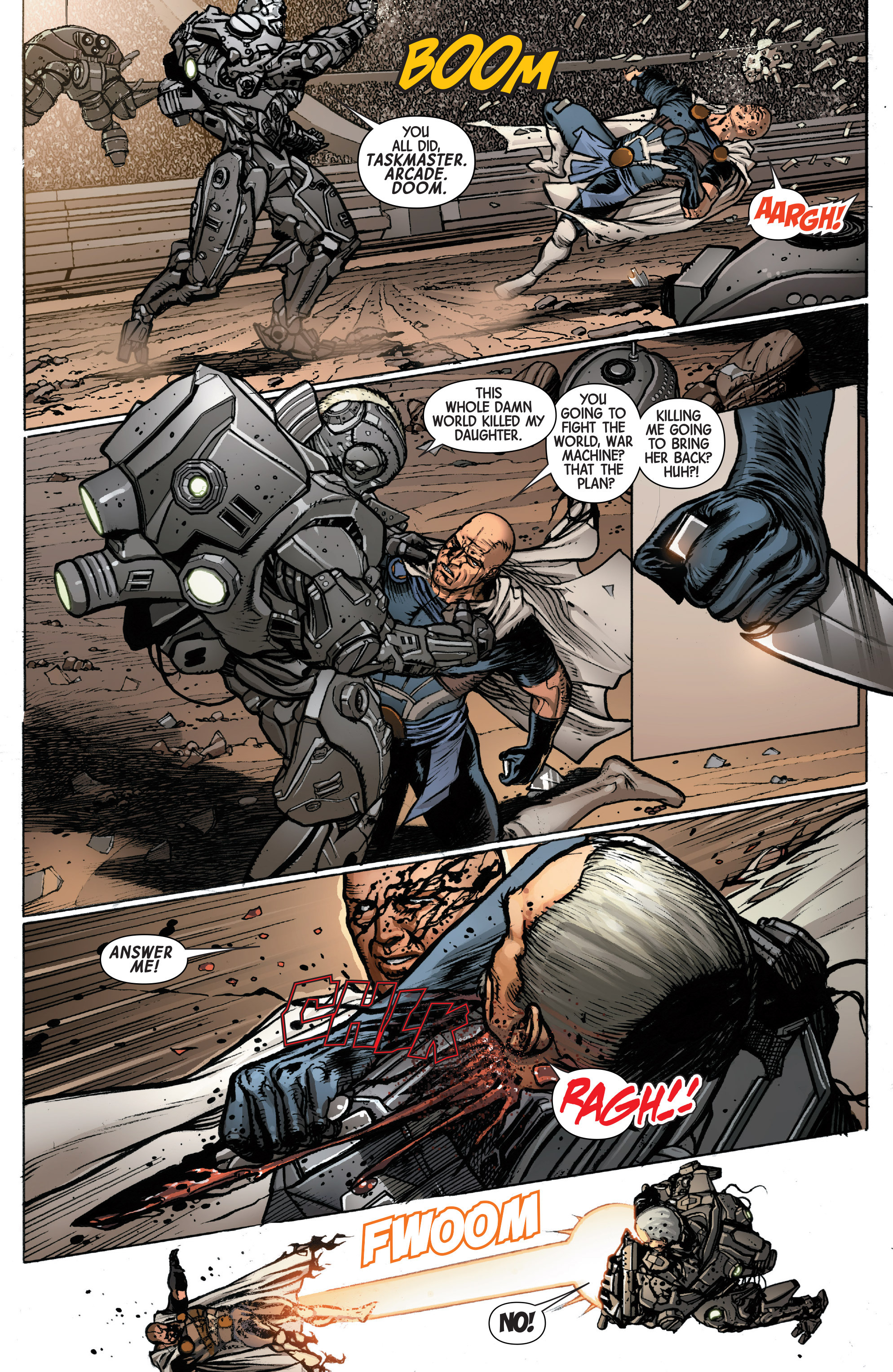 Read online Secret Wars: Battleworld comic -  Issue #2 - 21