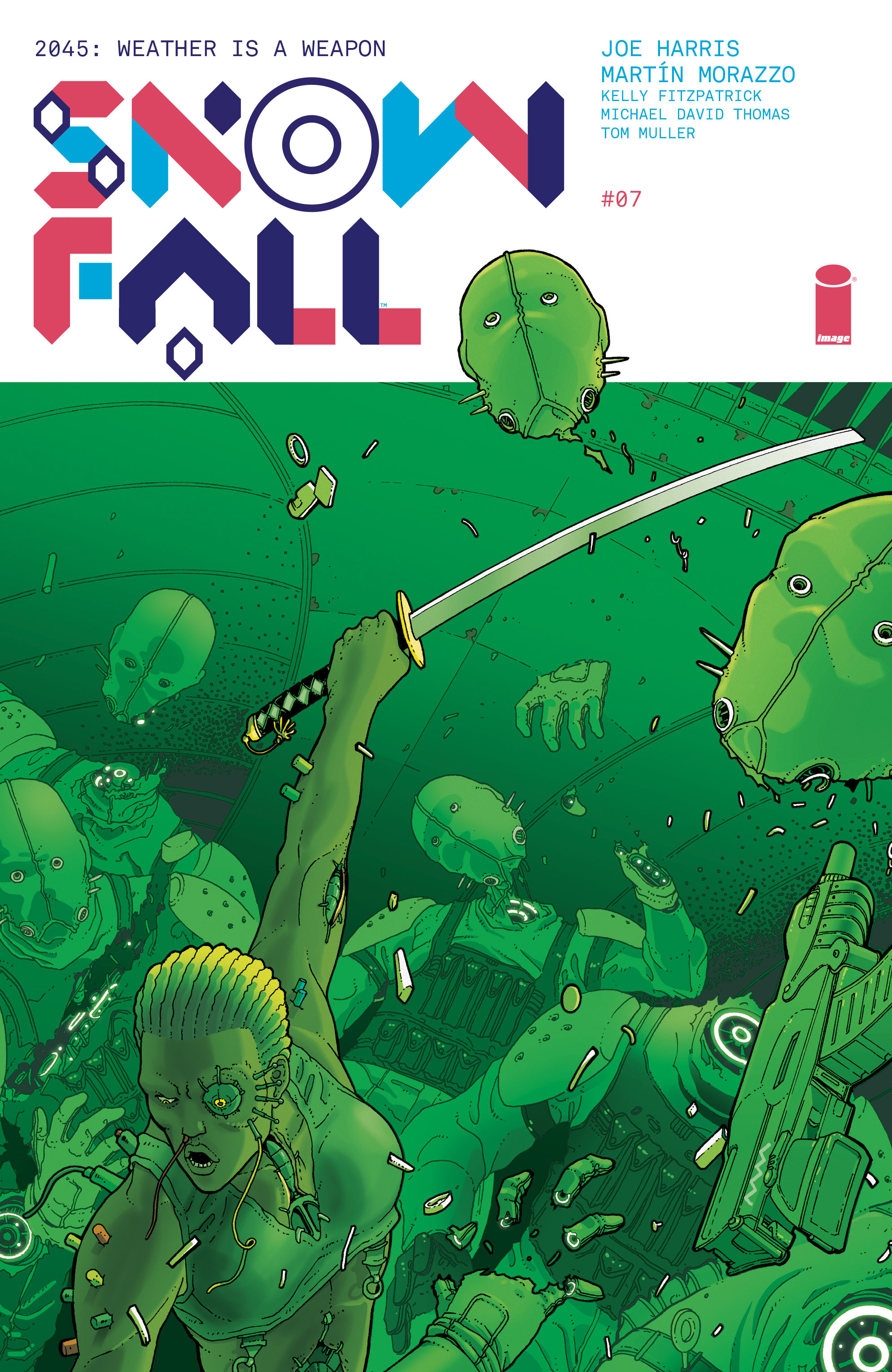 Read online Snowfall comic -  Issue #7 - 1