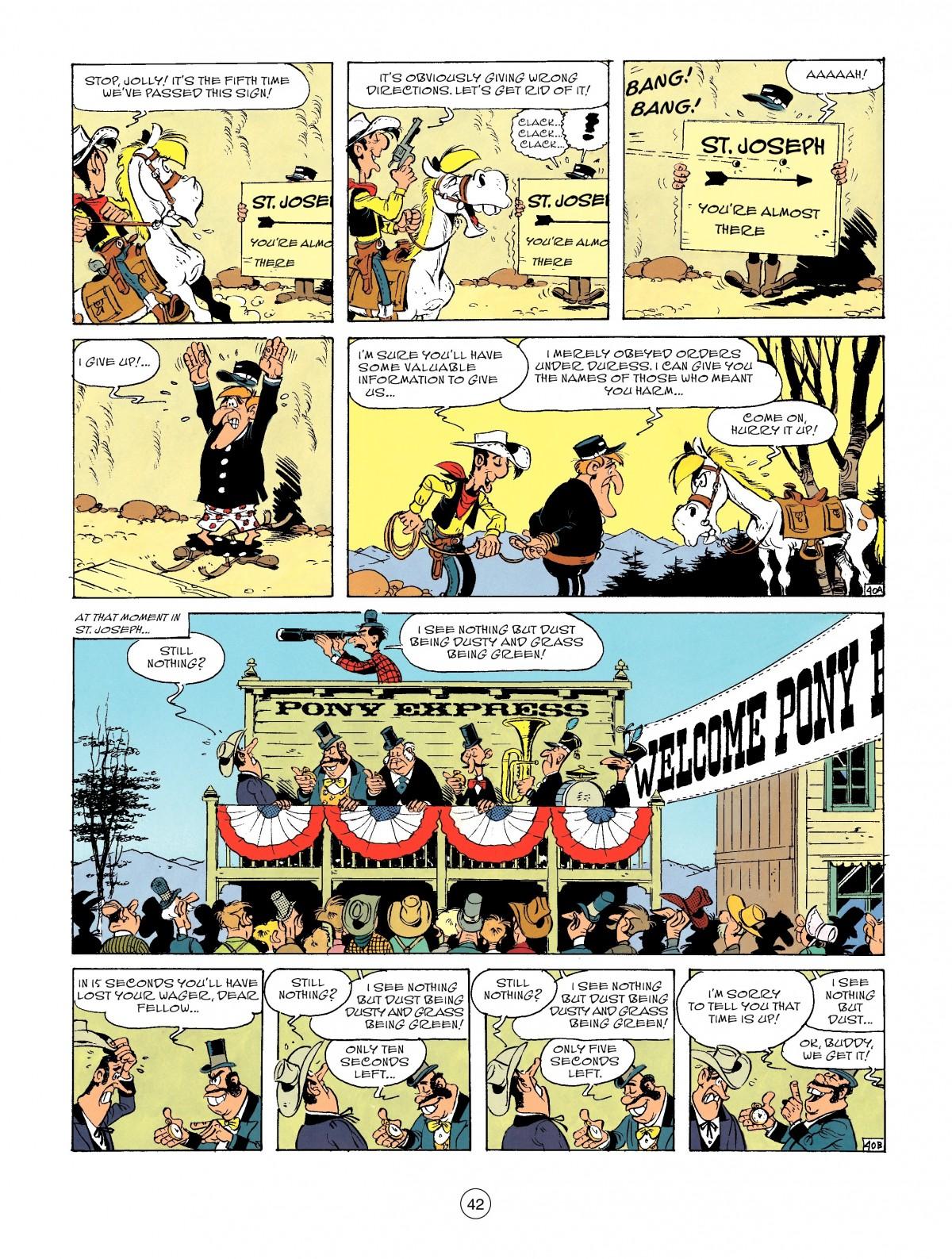 Read online A Lucky Luke Adventure comic -  Issue #46 - 42