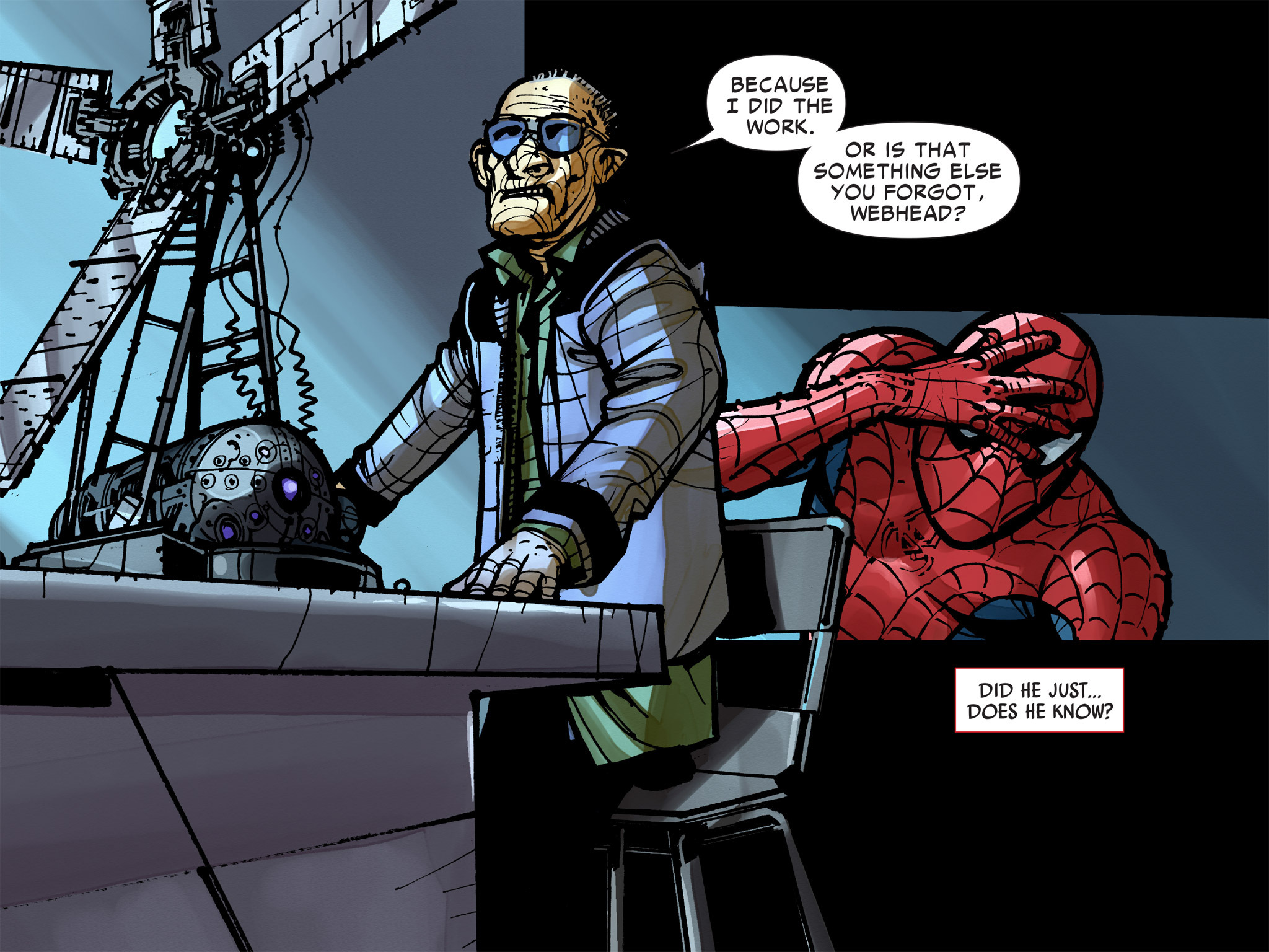 Read online Amazing Spider-Man: Who Am I? comic -  Issue # Full (Part 2) - 123