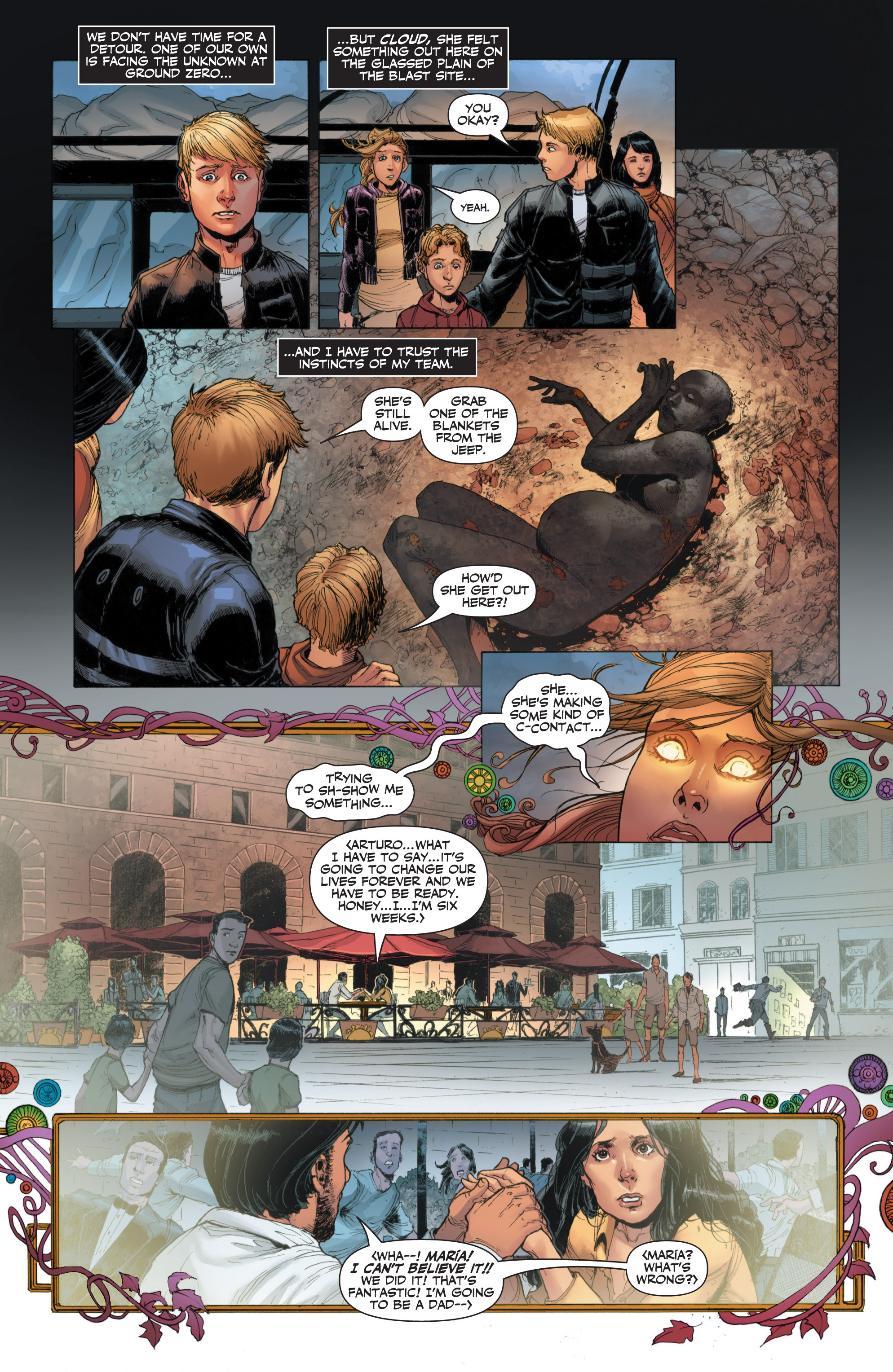 Read online Armor Hunters: Harbinger comic -  Issue # TPB - 38