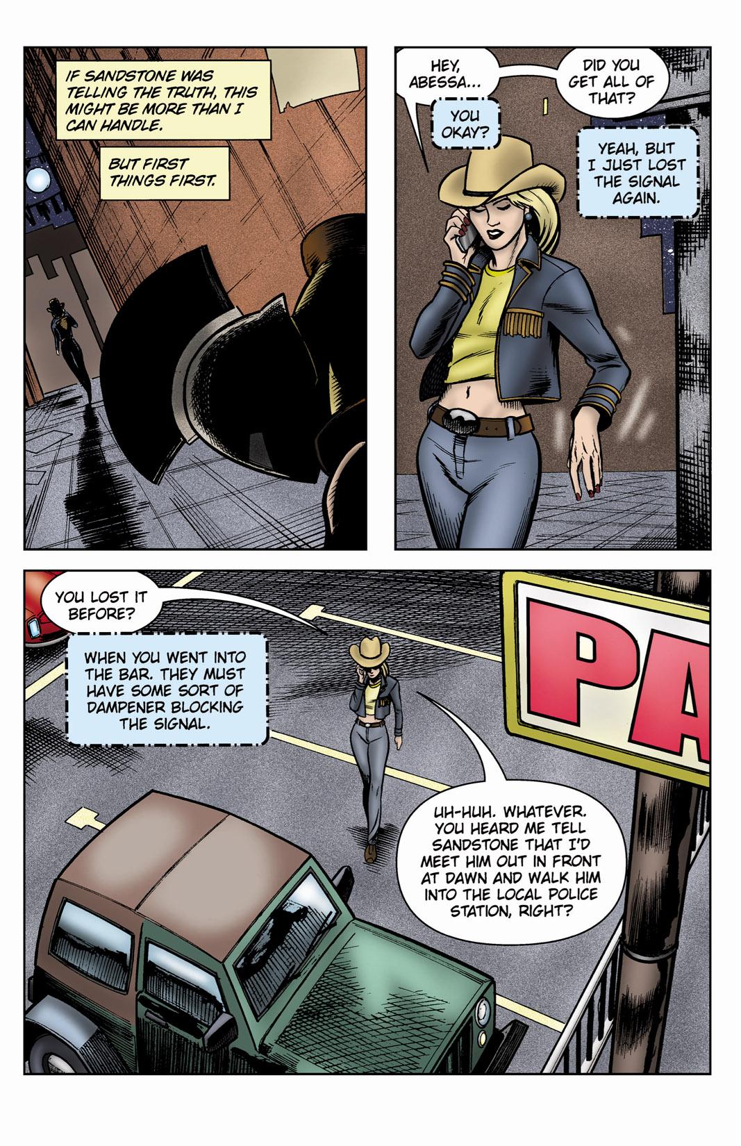 Read online SideChicks comic -  Issue #3 - 13