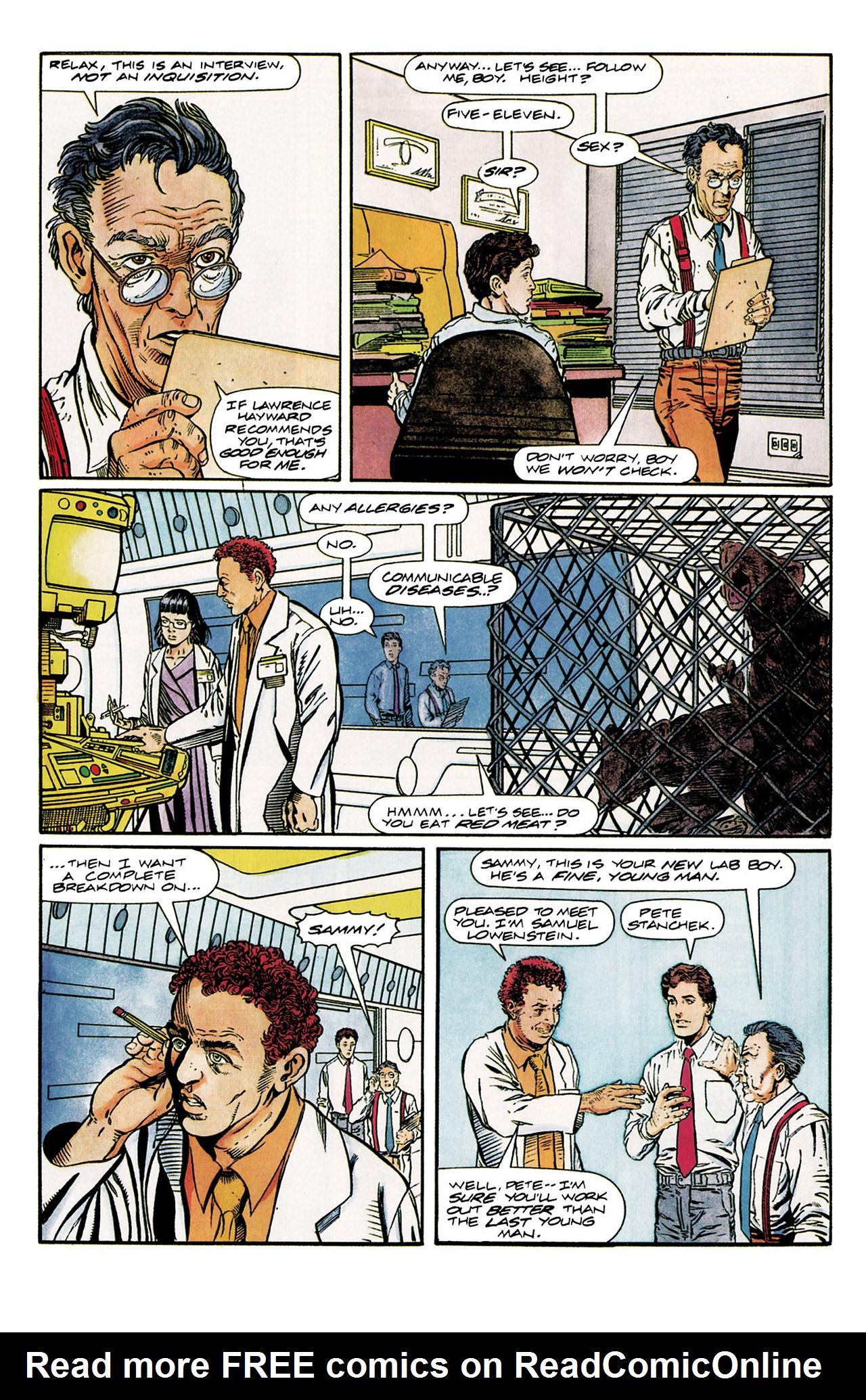Read online Harbinger (1992) comic -  Issue #10 - 10