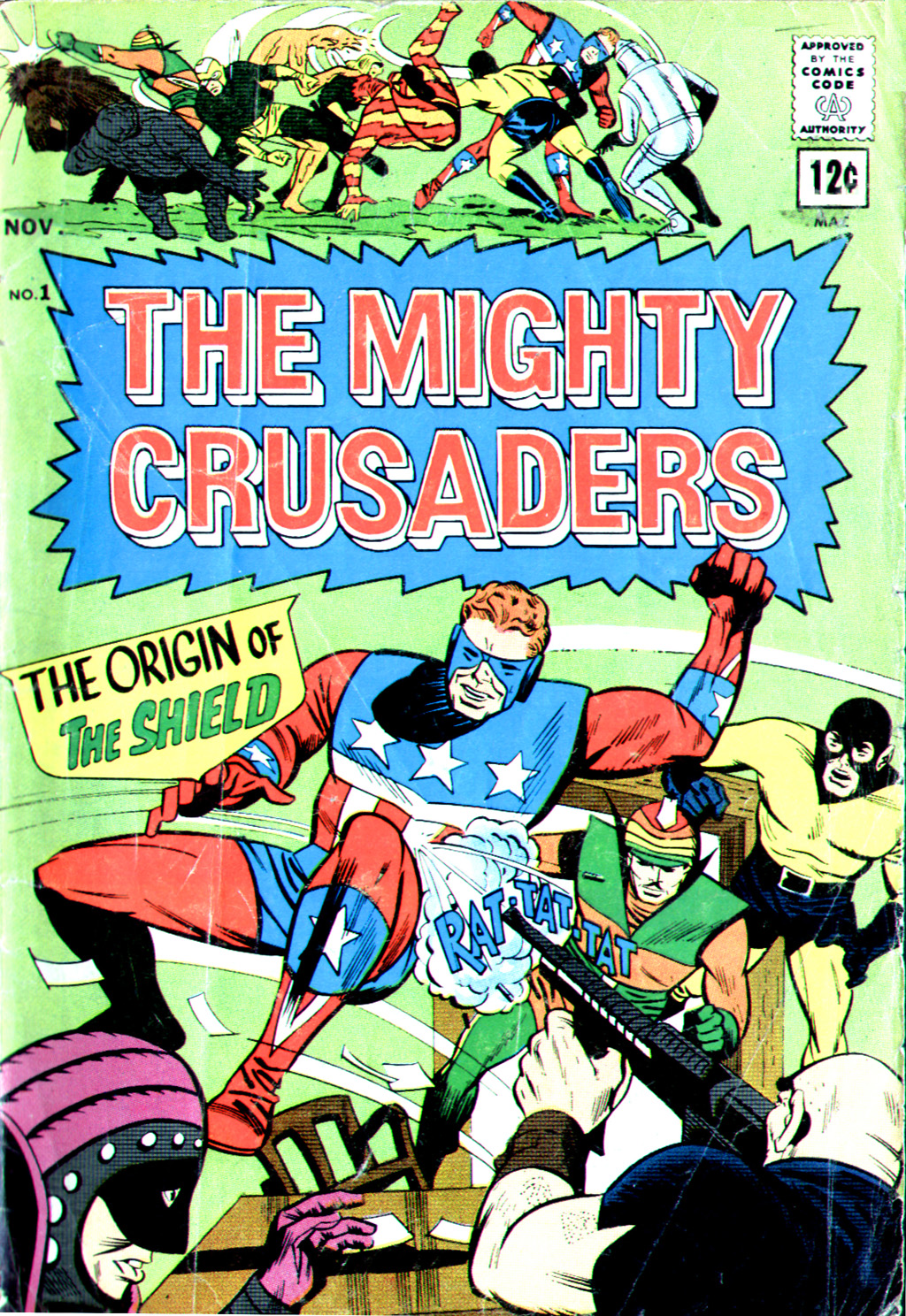 The Mighty Crusaders (1965) Issue #1 #1 - English 1
